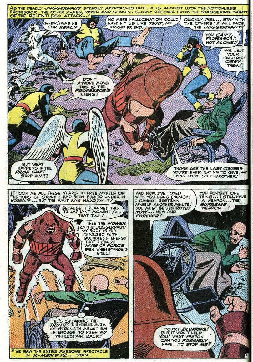 Read online Uncanny X-Men (1963) comic -  Issue #67 - 28