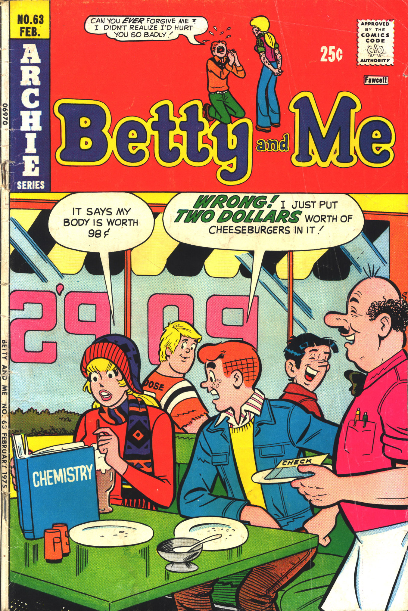 Betty and Me 63 Page 1