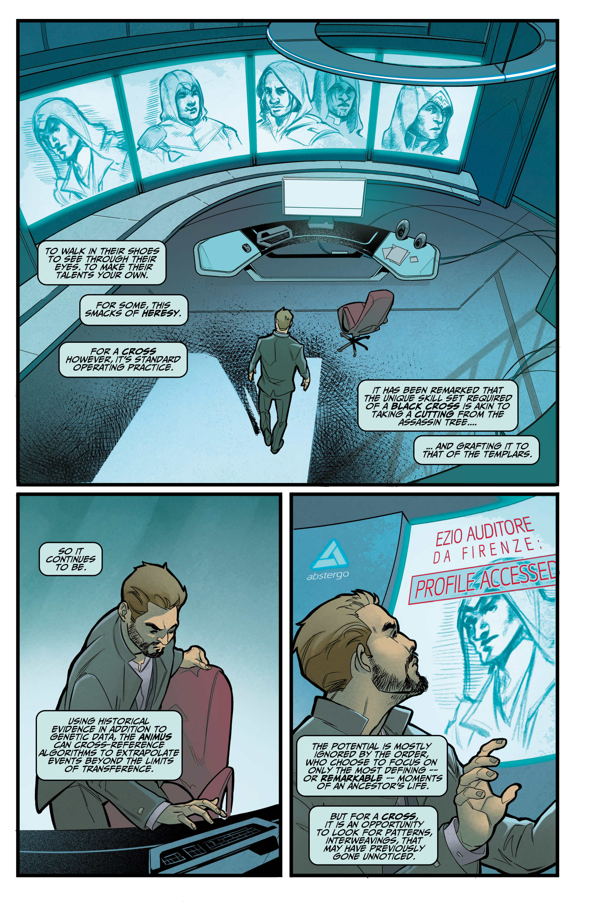 Read online Assassin's Creed: Reflections comic -  Issue #1 - 4