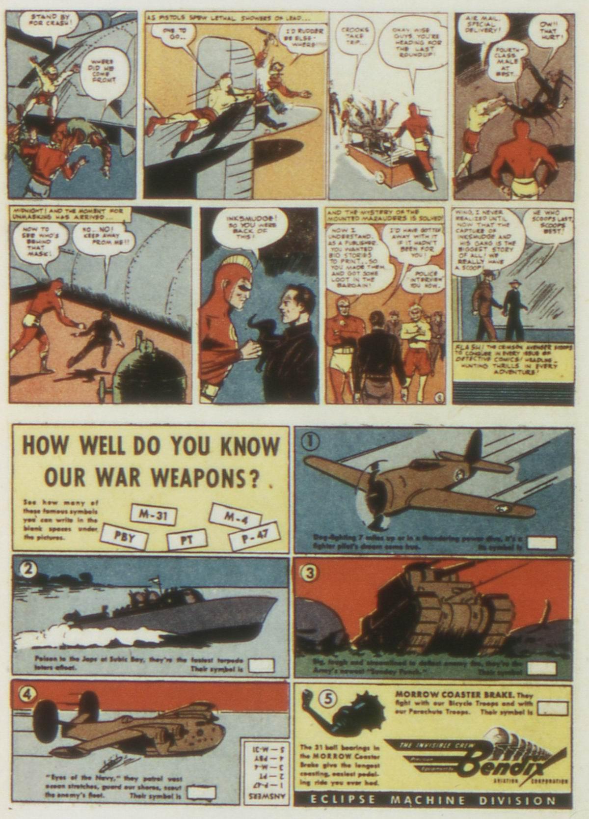 Read online Detective Comics (1937) comic -  Issue #77 - 32
