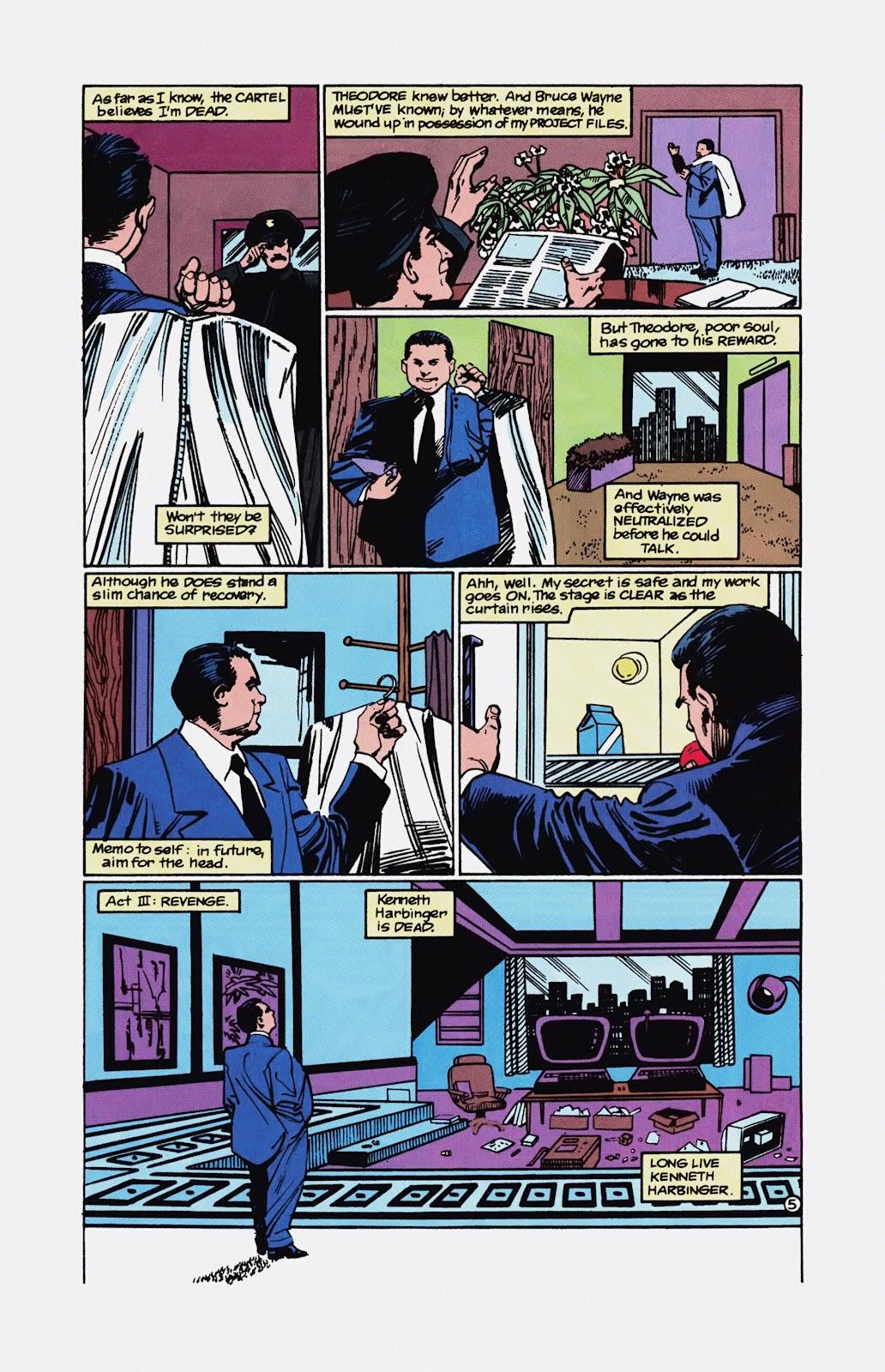 Read online Detective Comics (1937) comic -  Issue # _TPB Batman - Blind Justice (Part 1) - 92