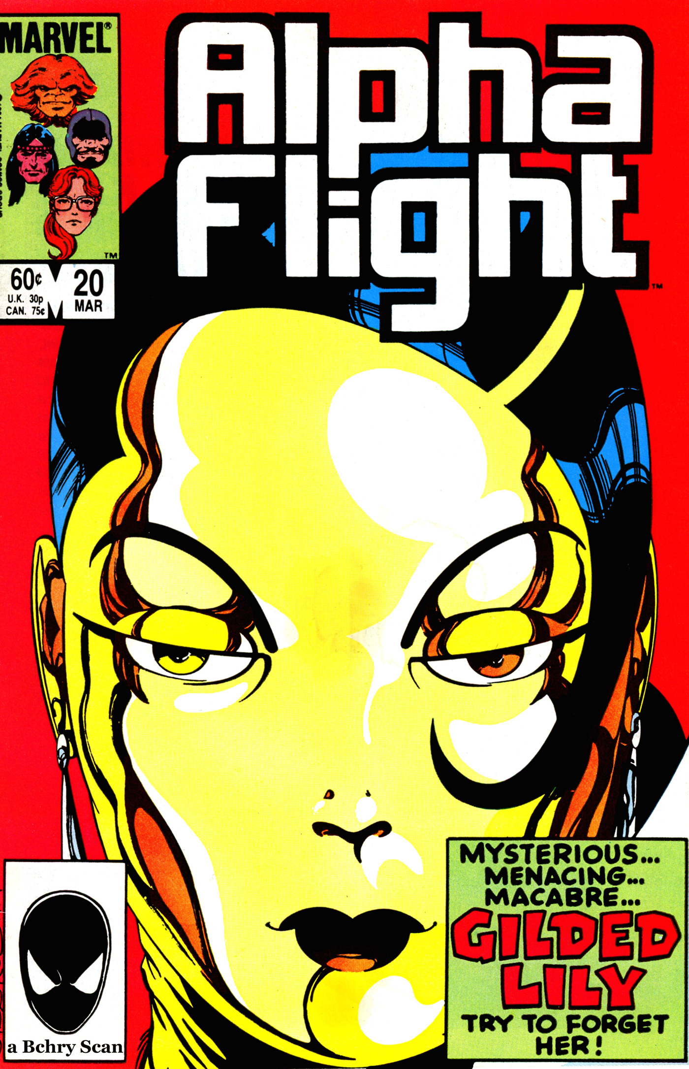 Read online Alpha Flight (1983) comic -  Issue #20 - 1