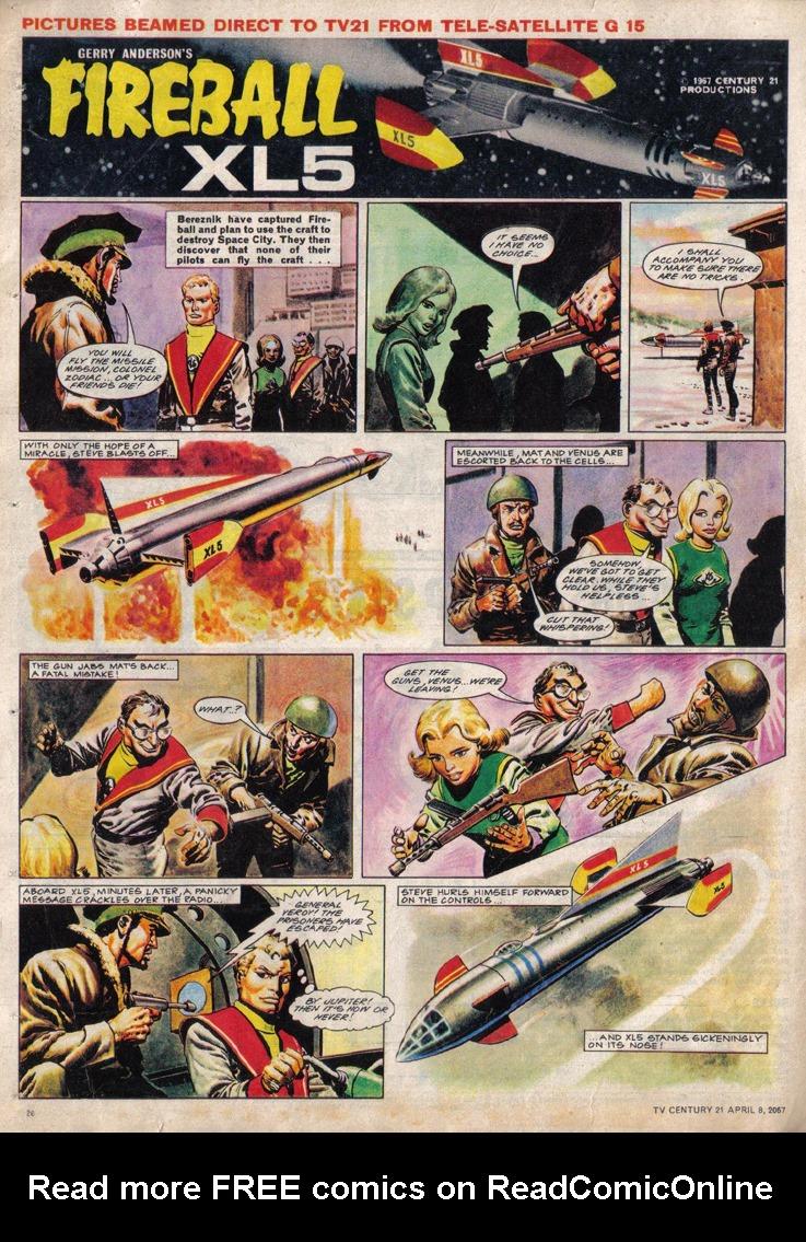 Read online TV Century 21 (TV 21) comic -  Issue #116 - 19