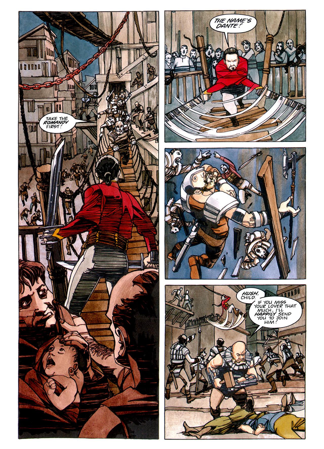 Read online Nikolai Dante comic -  Issue # TPB 1 - 76