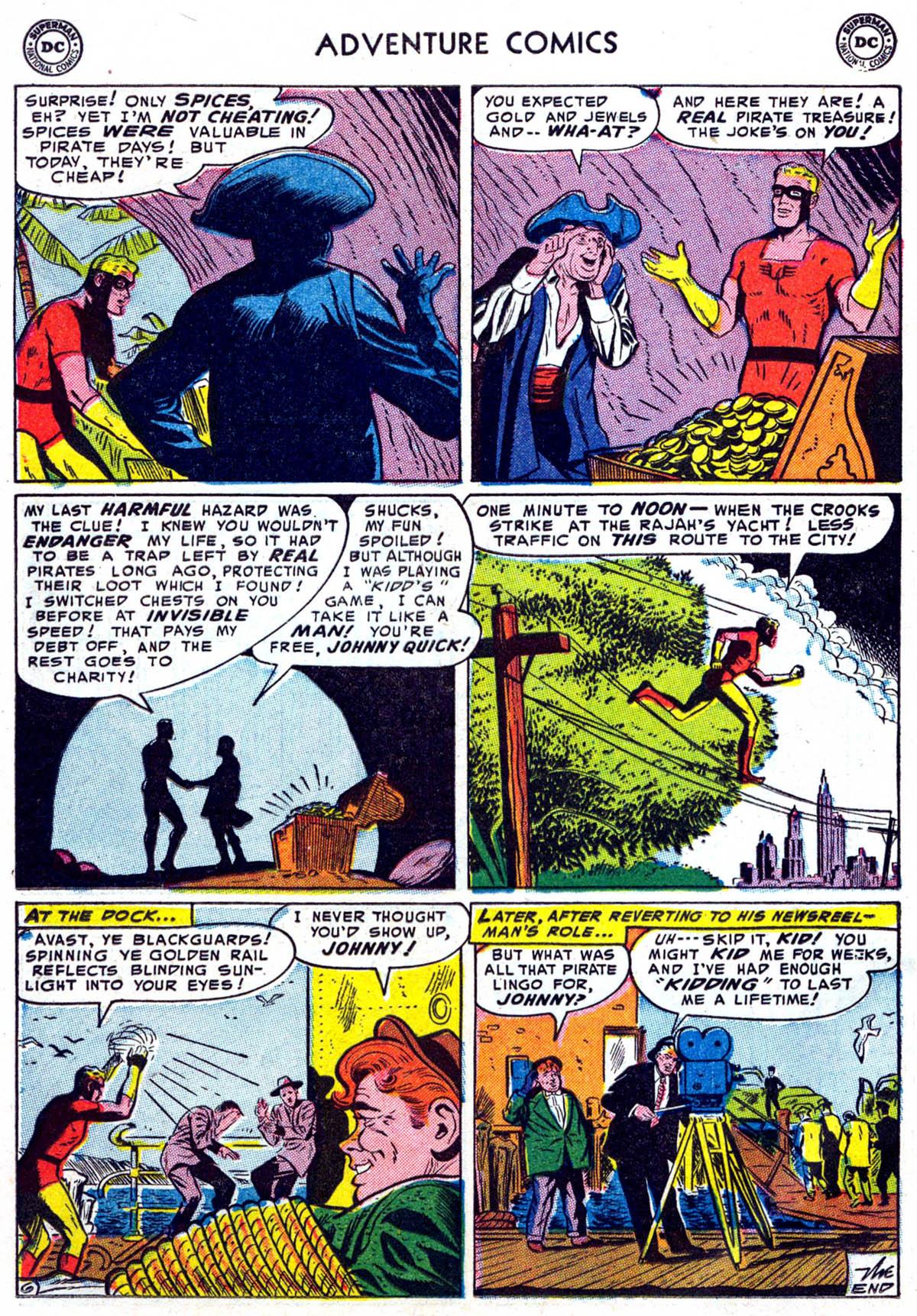 Read online Adventure Comics (1938) comic -  Issue #199 - 26