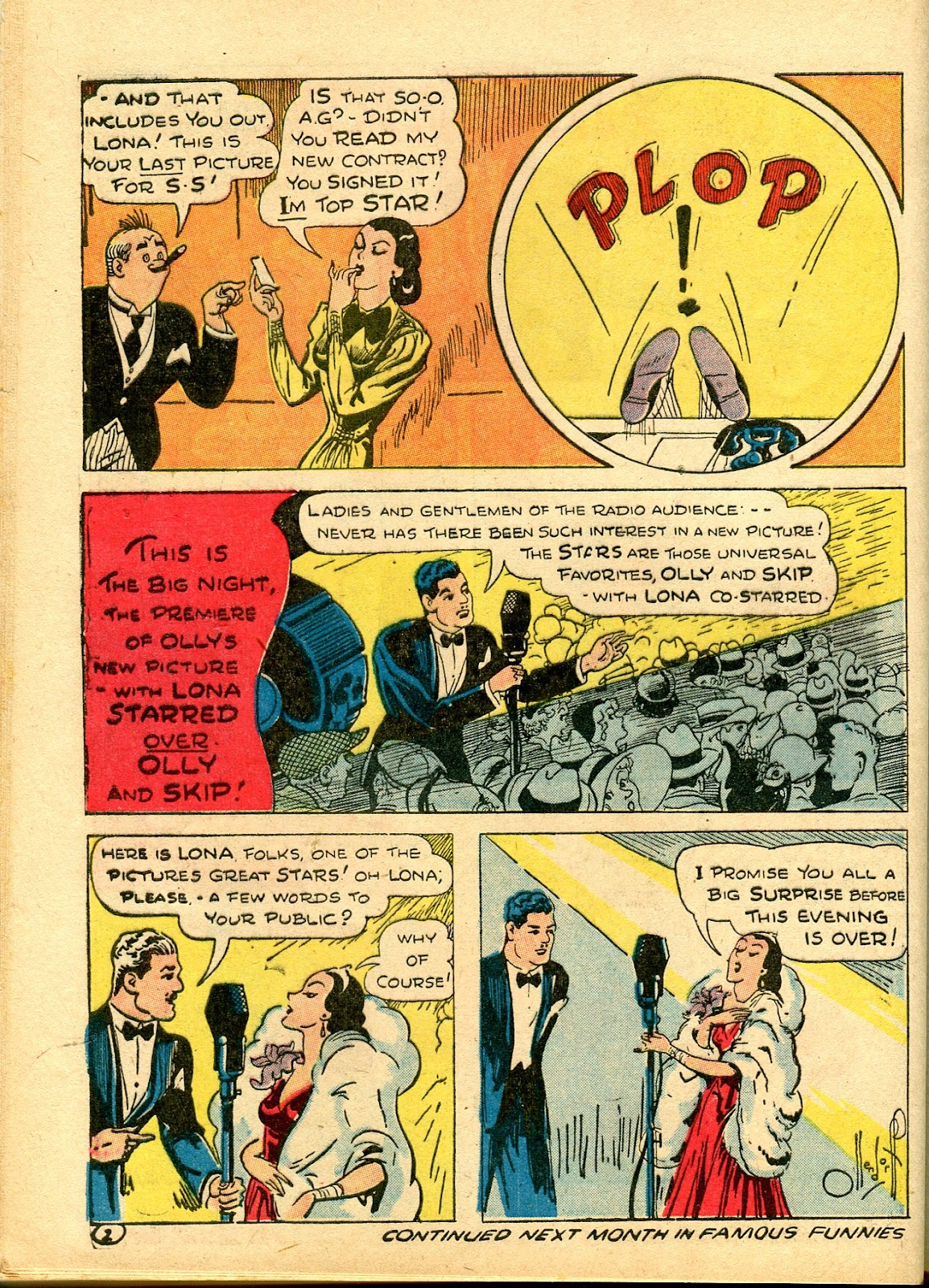 Read online Famous Funnies comic -  Issue #111 - 48