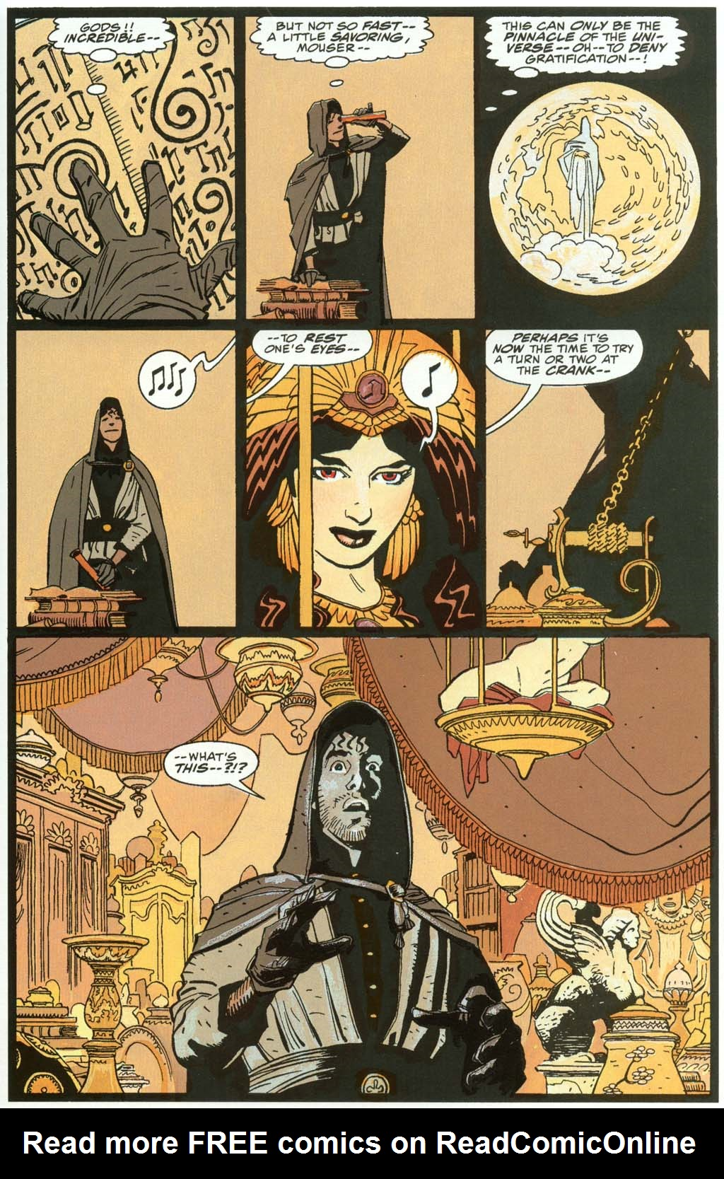 Read online Fafhrd and the Gray Mouser comic -  Issue #3 - 39