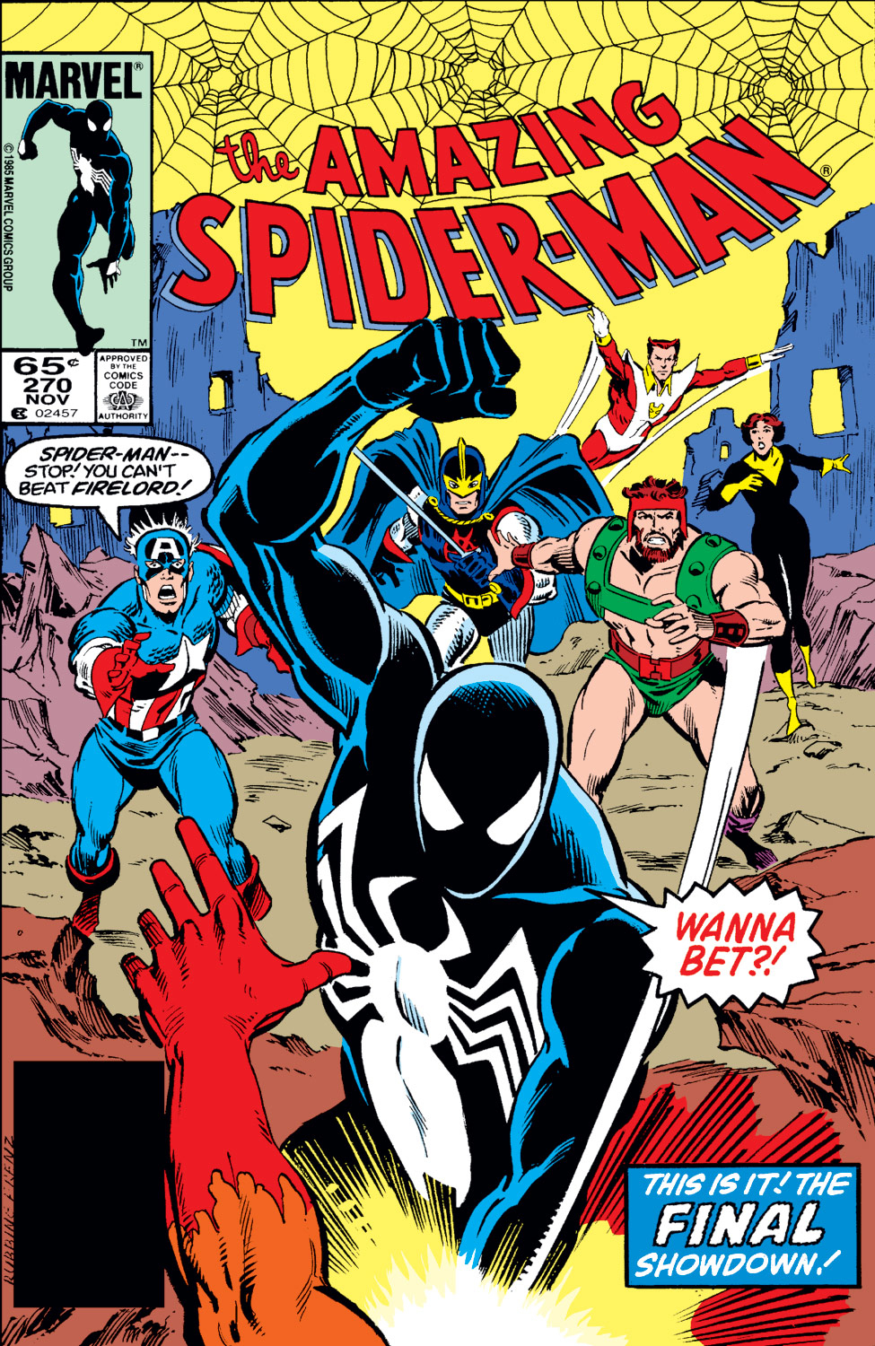 The Amazing Spider-Man (1963) 270 Page 1