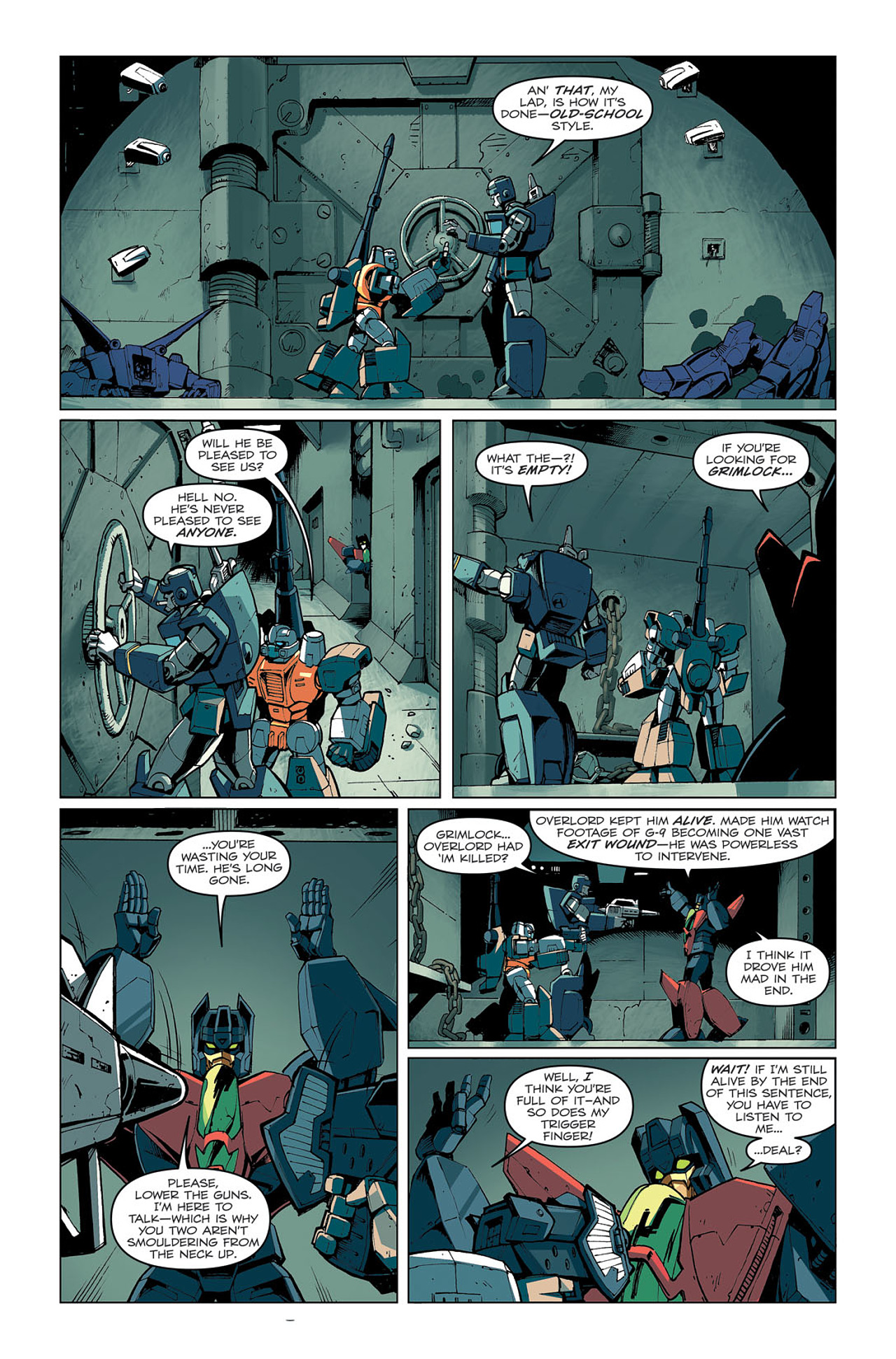 Read online Transformers: Last Stand of The Wreckers comic -  Issue #4 - 6