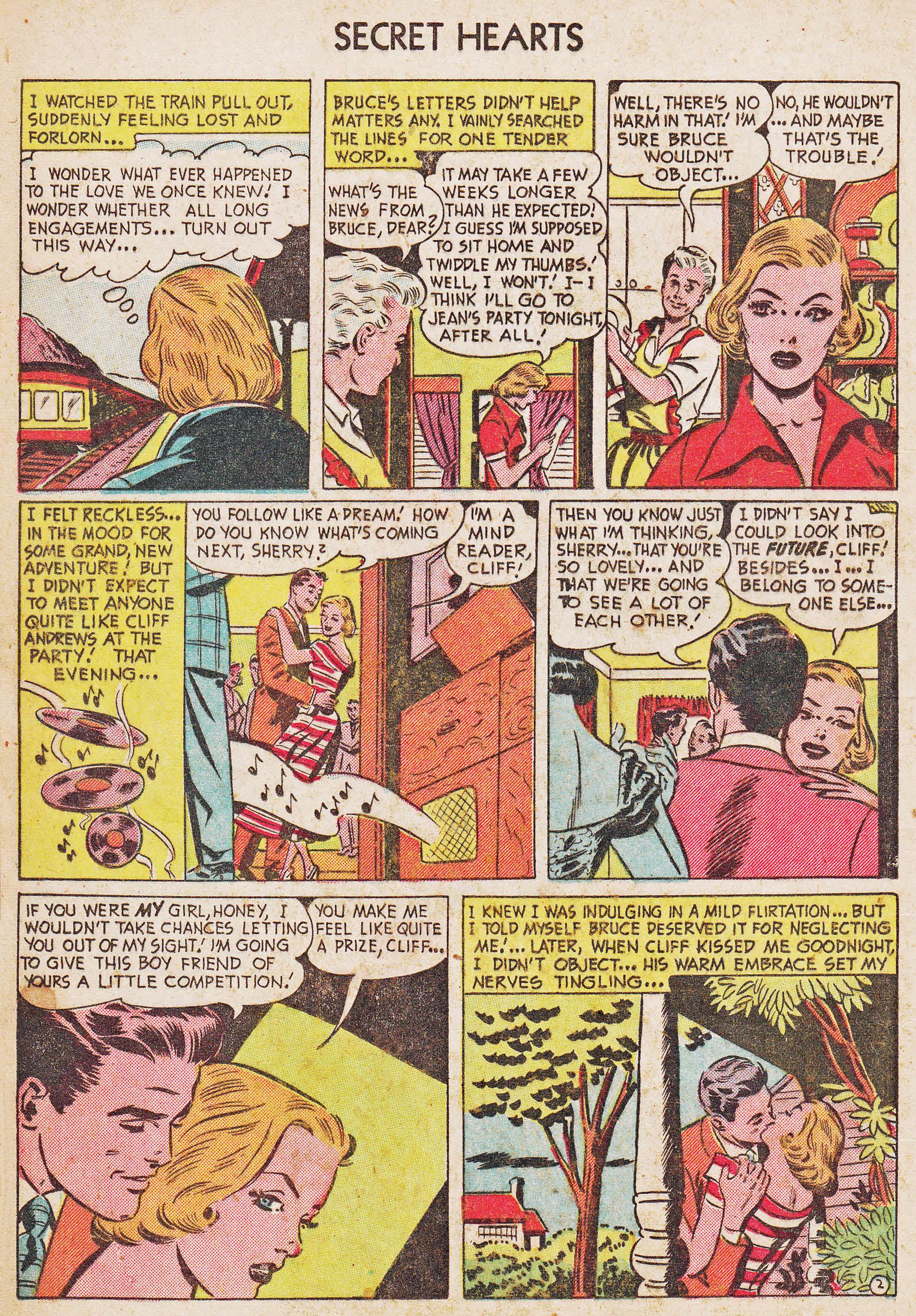 Read online Secret Hearts comic -  Issue #7 - 12