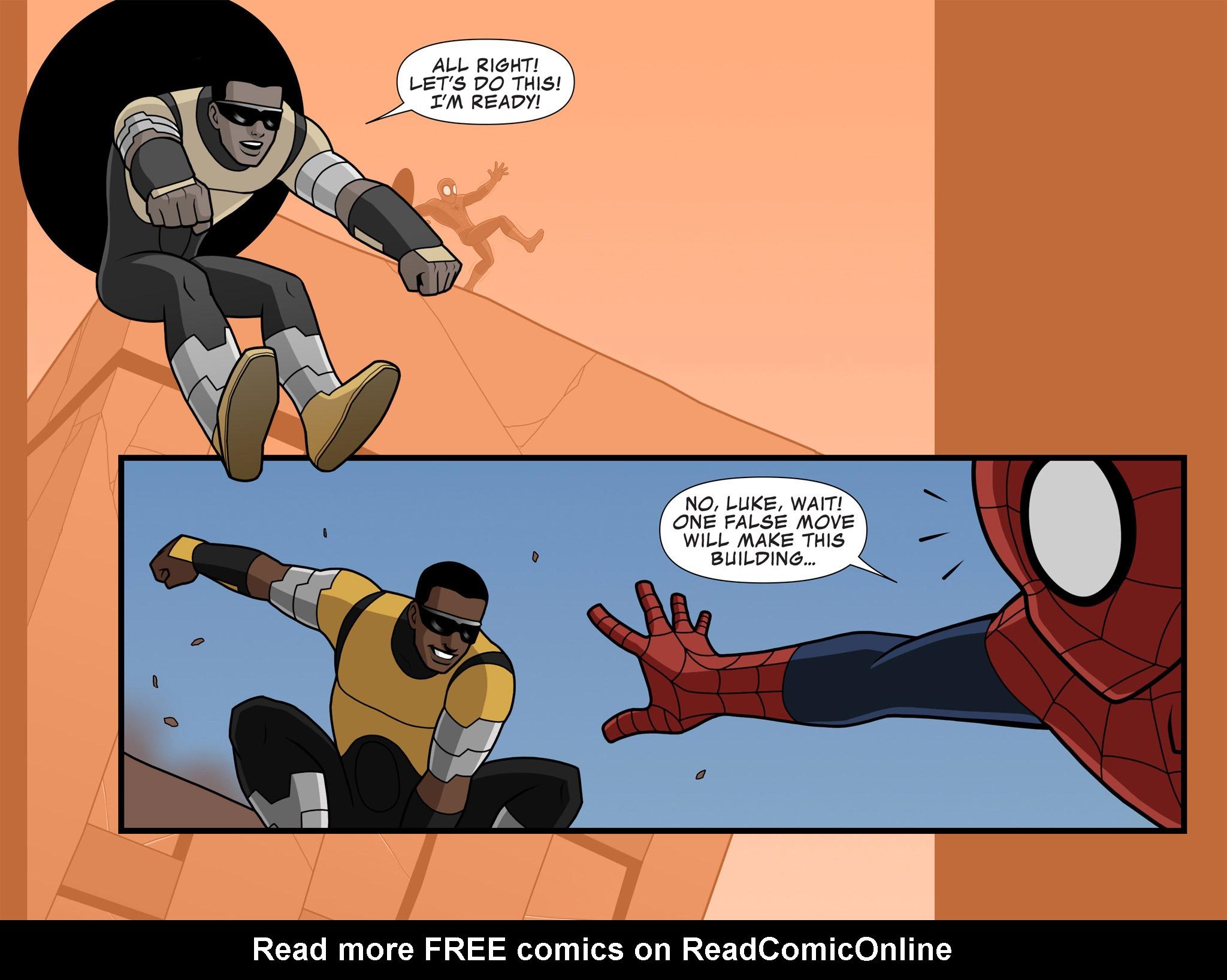 Read online Ultimate Spider-Man (Infinite Comics) (2015) comic -  Issue #10 - 10
