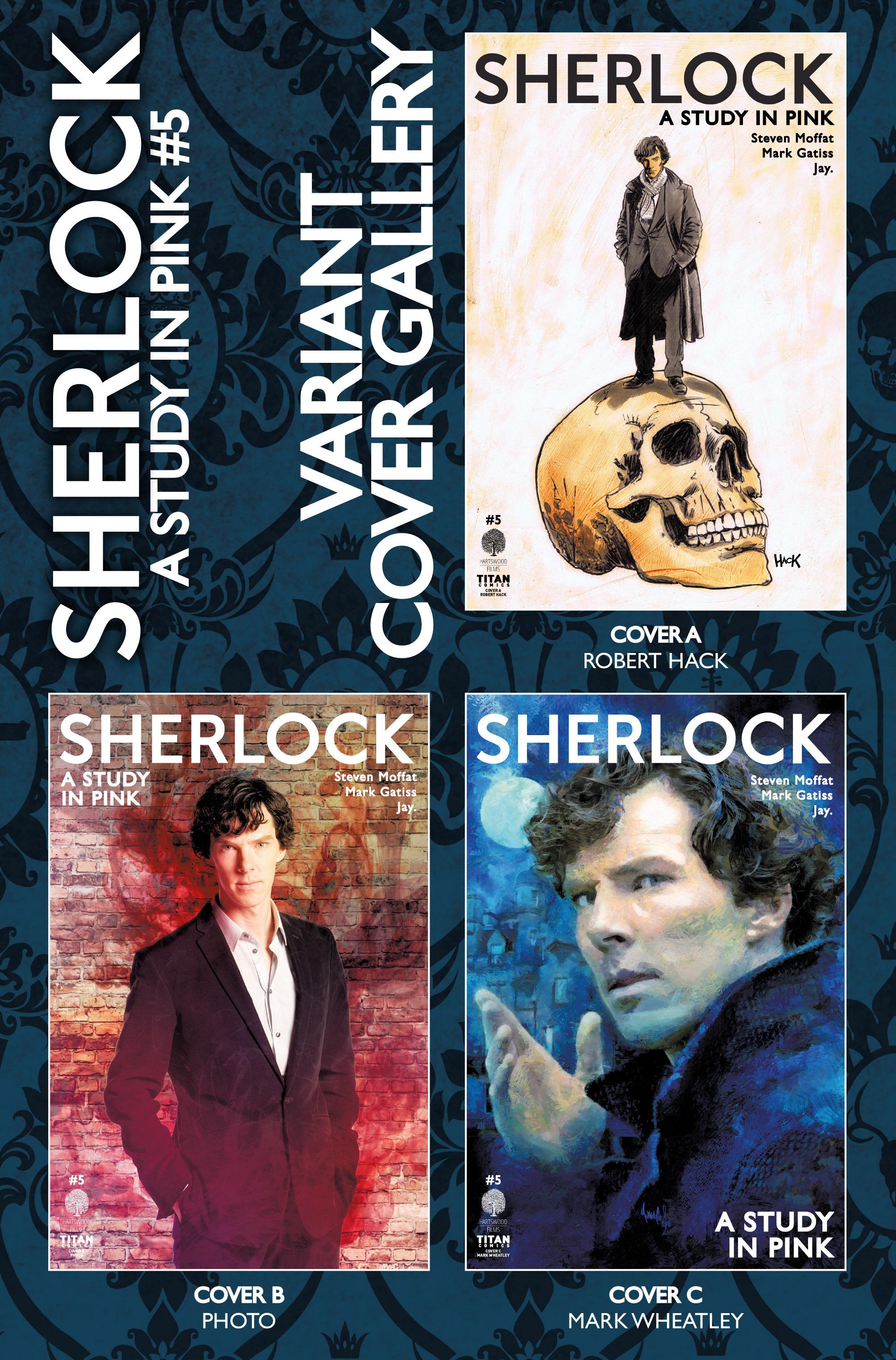 Read online Sherlock: A Study In Pink comic -  Issue #5 - 39