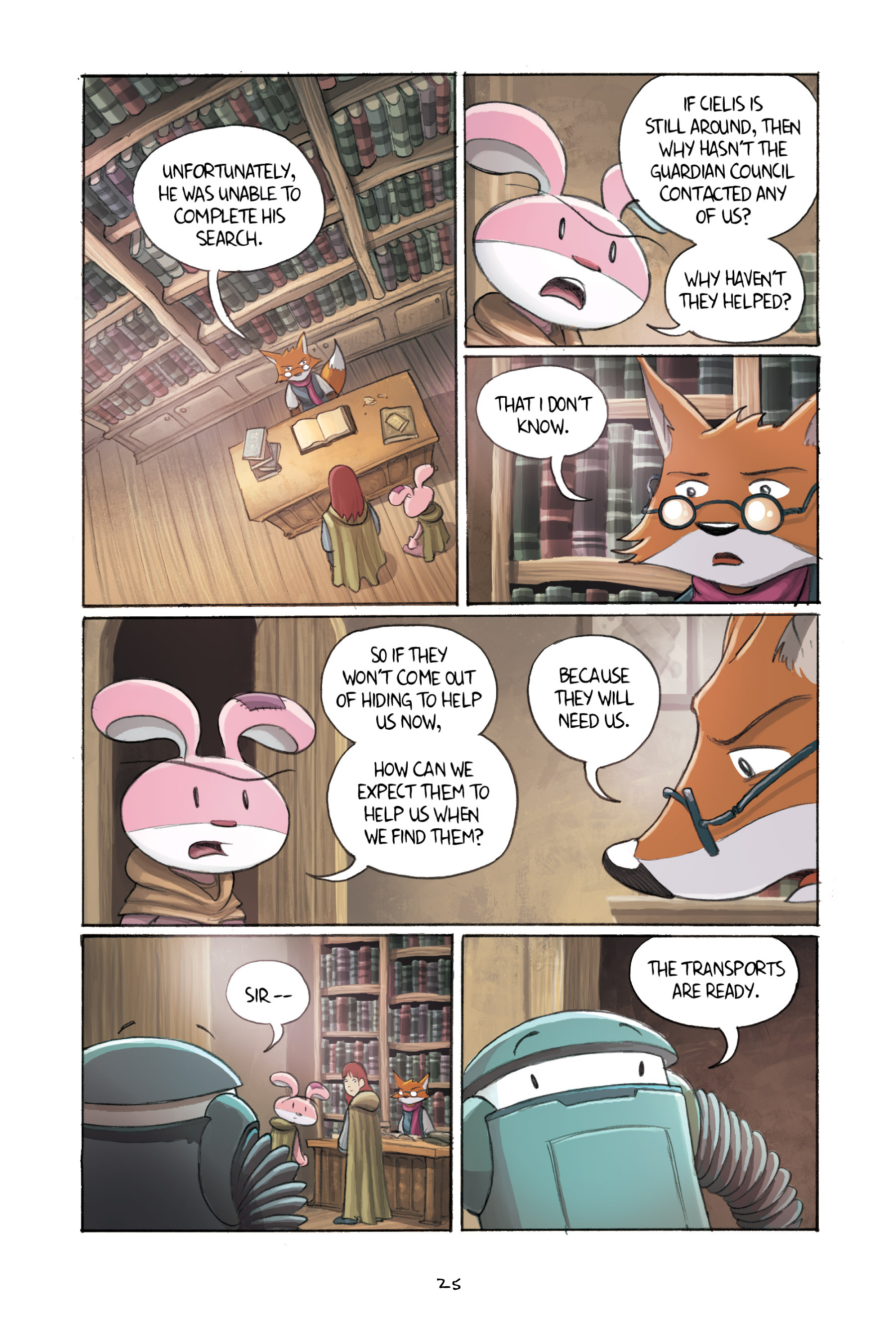 Read online Amulet comic -  Issue #3 - 25