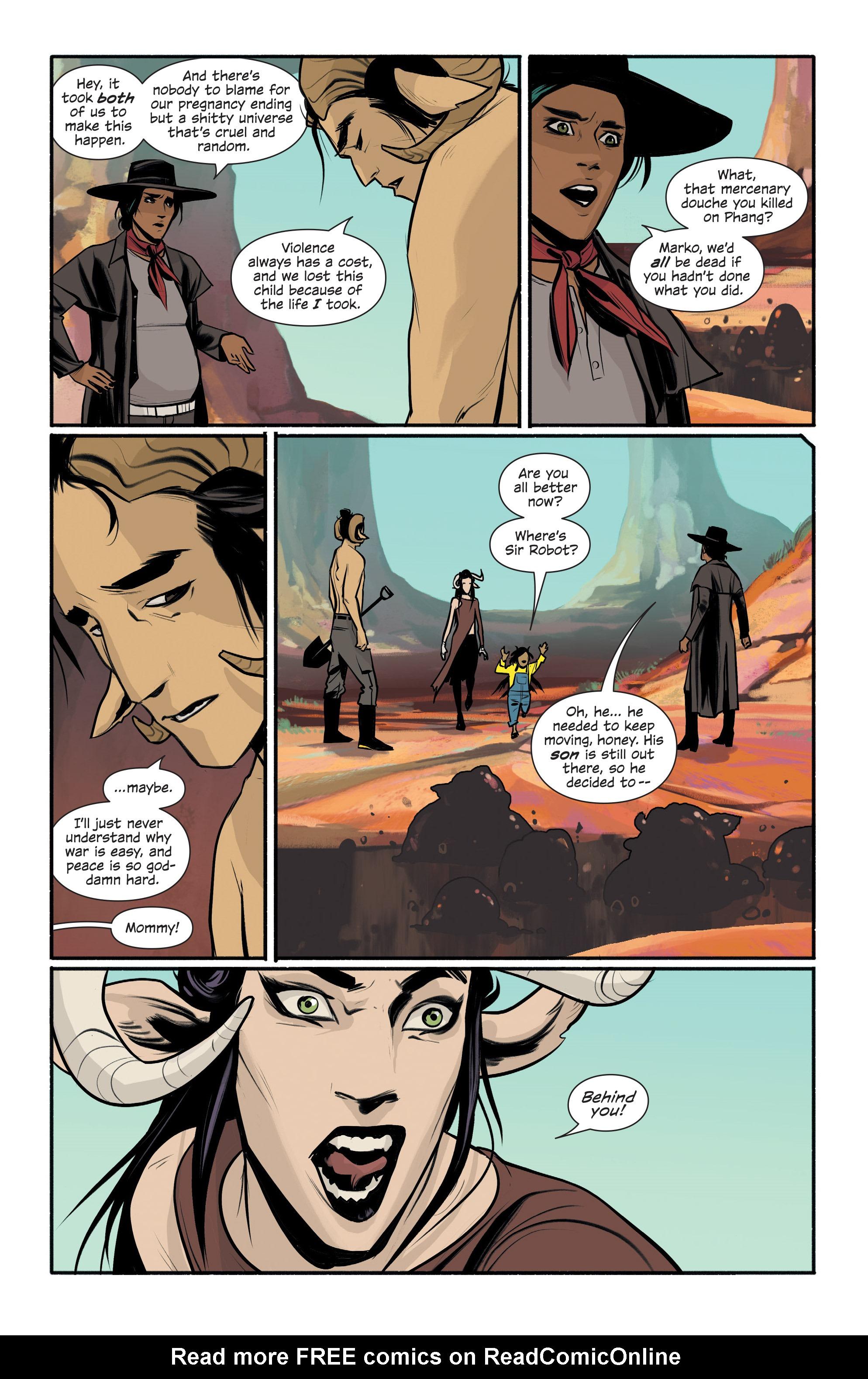 Read online Saga comic -  Issue #43 - 19