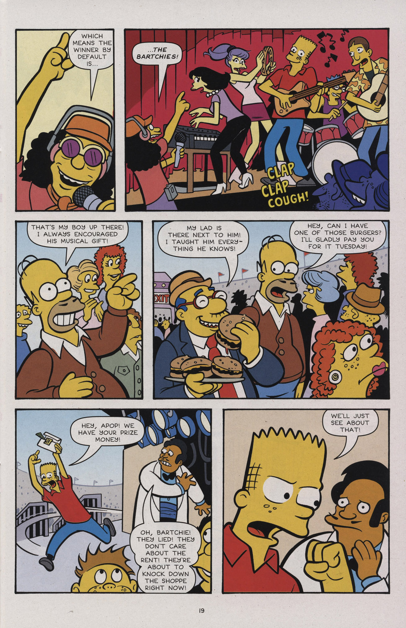 Read online Simpsons Comics comic -  Issue #183 - 21