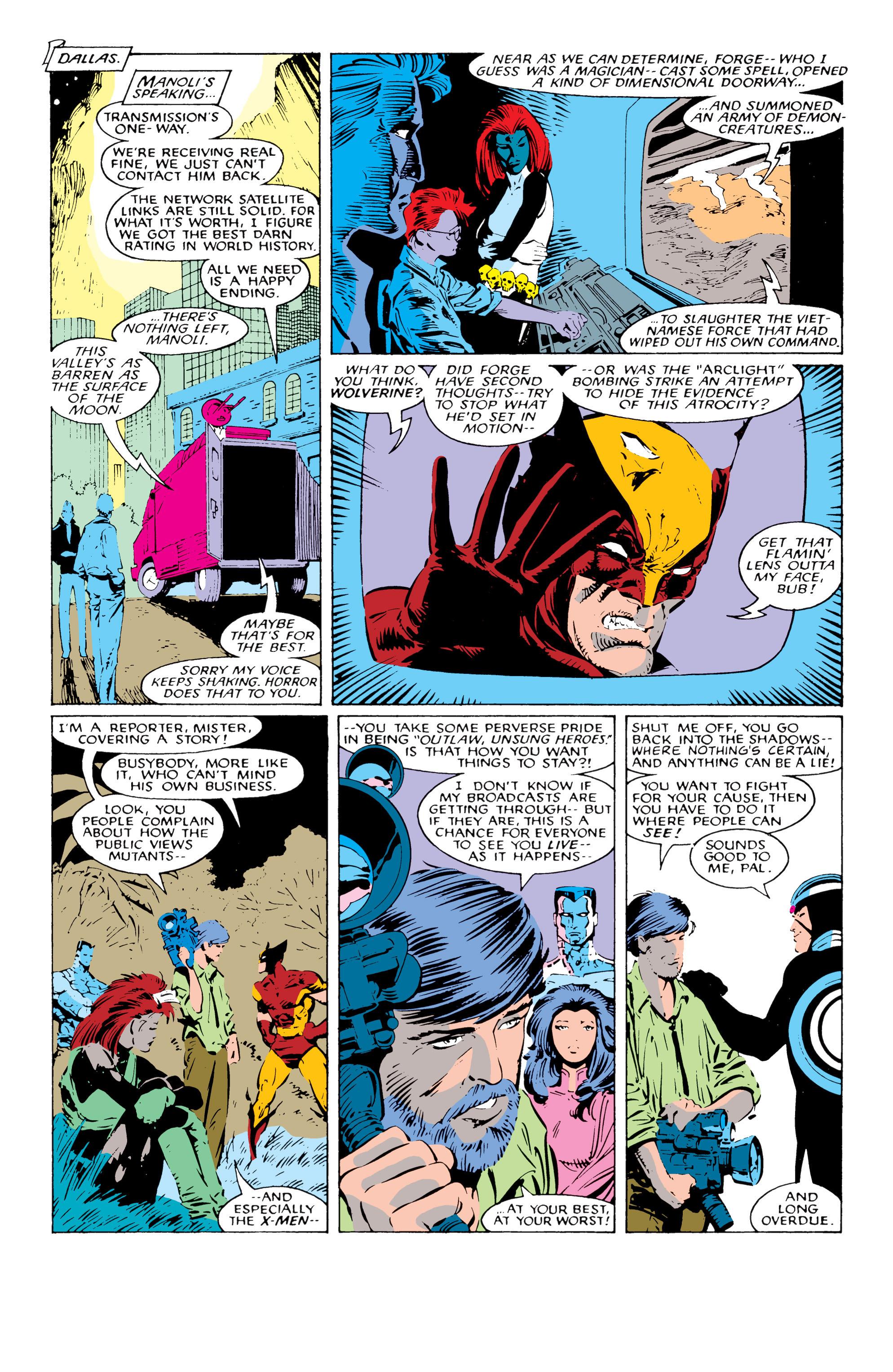 Read online Uncanny X-Men (1963) comic -  Issue #227 - 9
