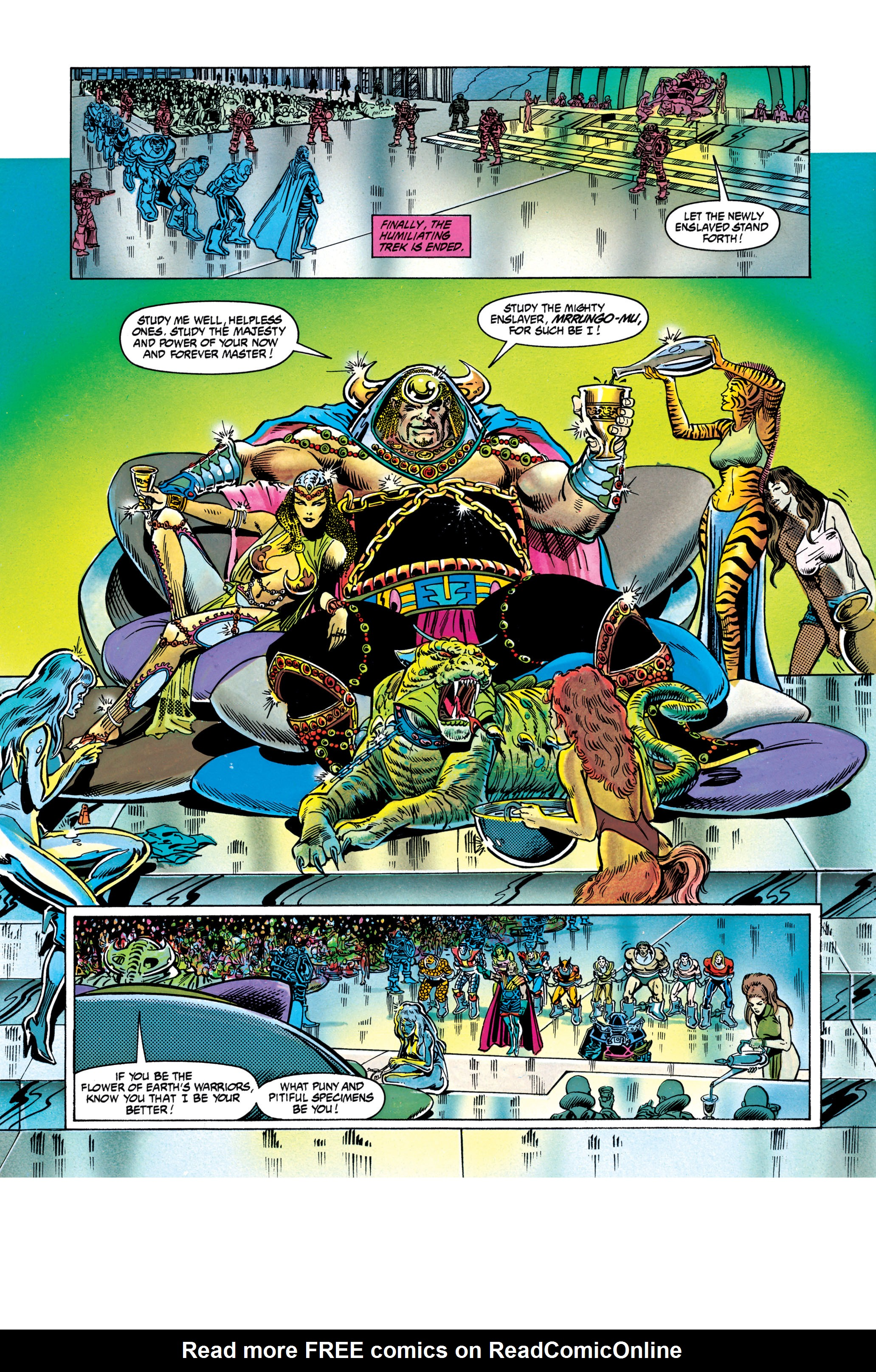 Read online Silver Surfer: Parable comic -  Issue # TPB - 79