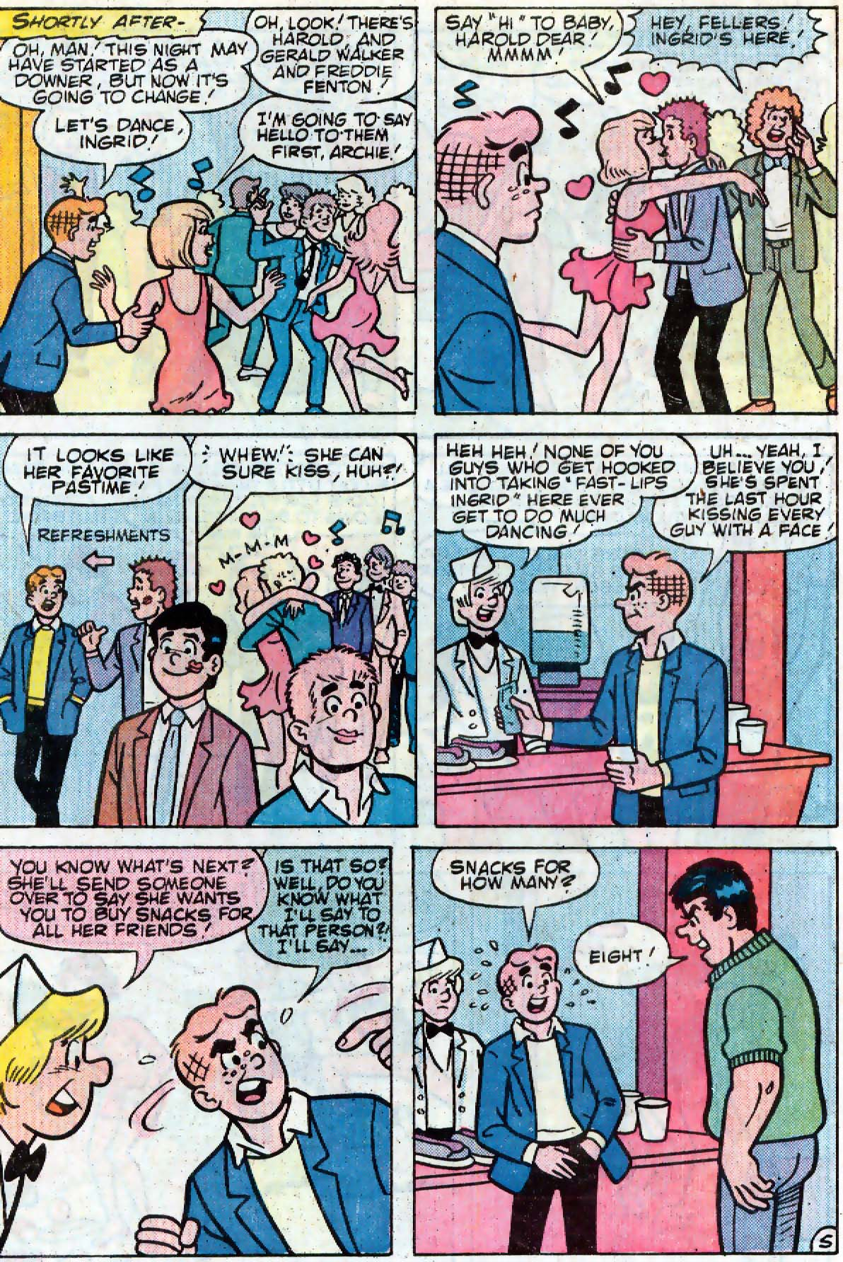 Read online Archie (1960) comic -  Issue #333 - 6