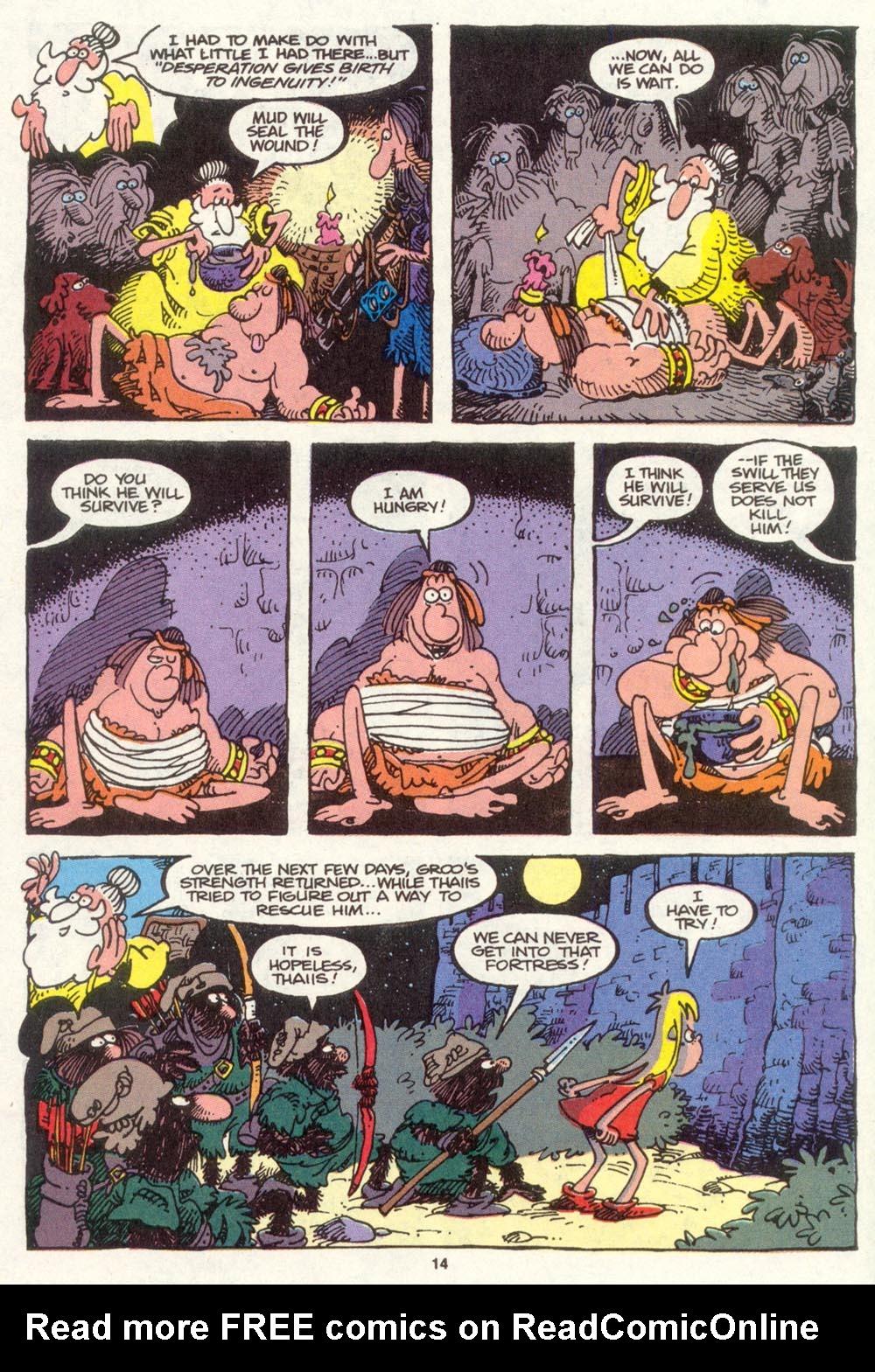 Read online Sergio Aragonés Groo the Wanderer comic -  Issue #83 - 11