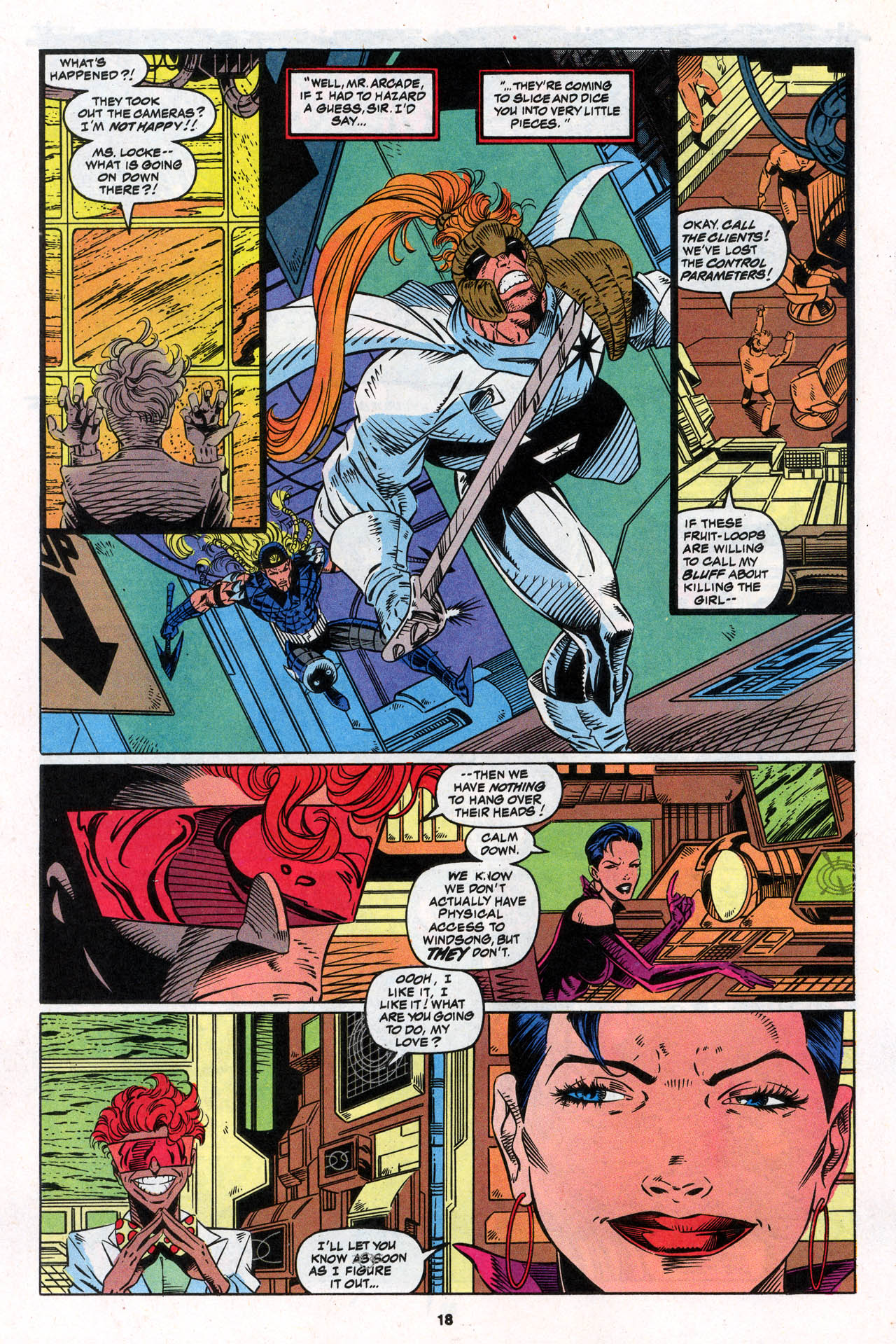 Read online X-Force (1991) comic -  Issue #30 - 19