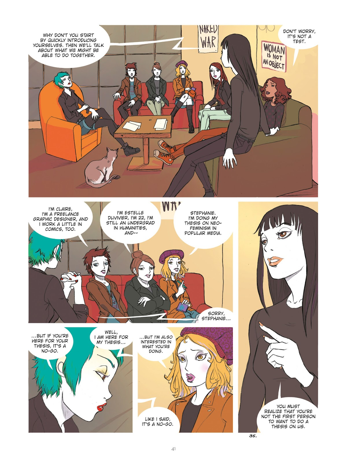 Read online Diary of A Femen comic -  Issue # TPB - 43