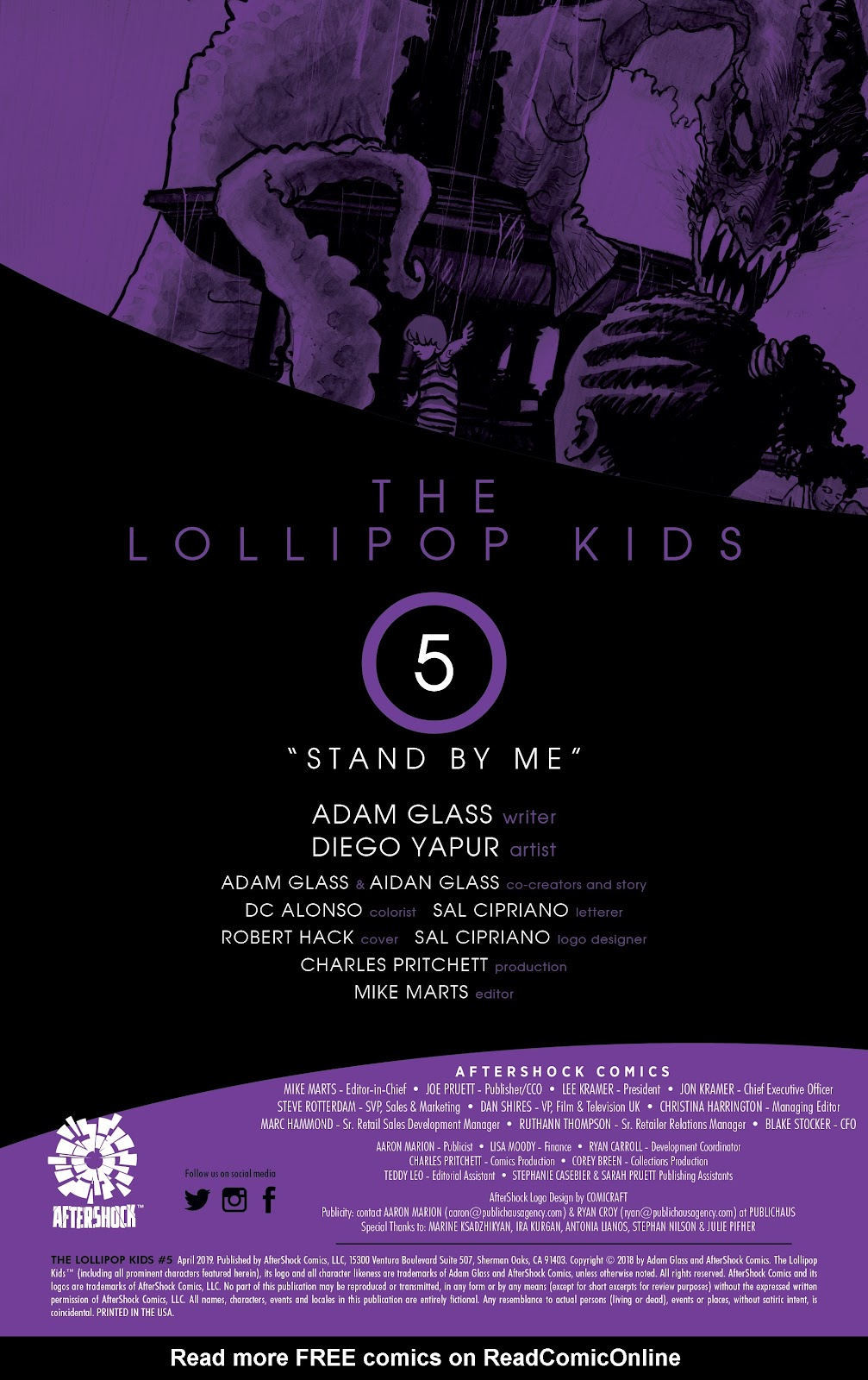 Read online Lollipop Kids comic -  Issue #5 - 2