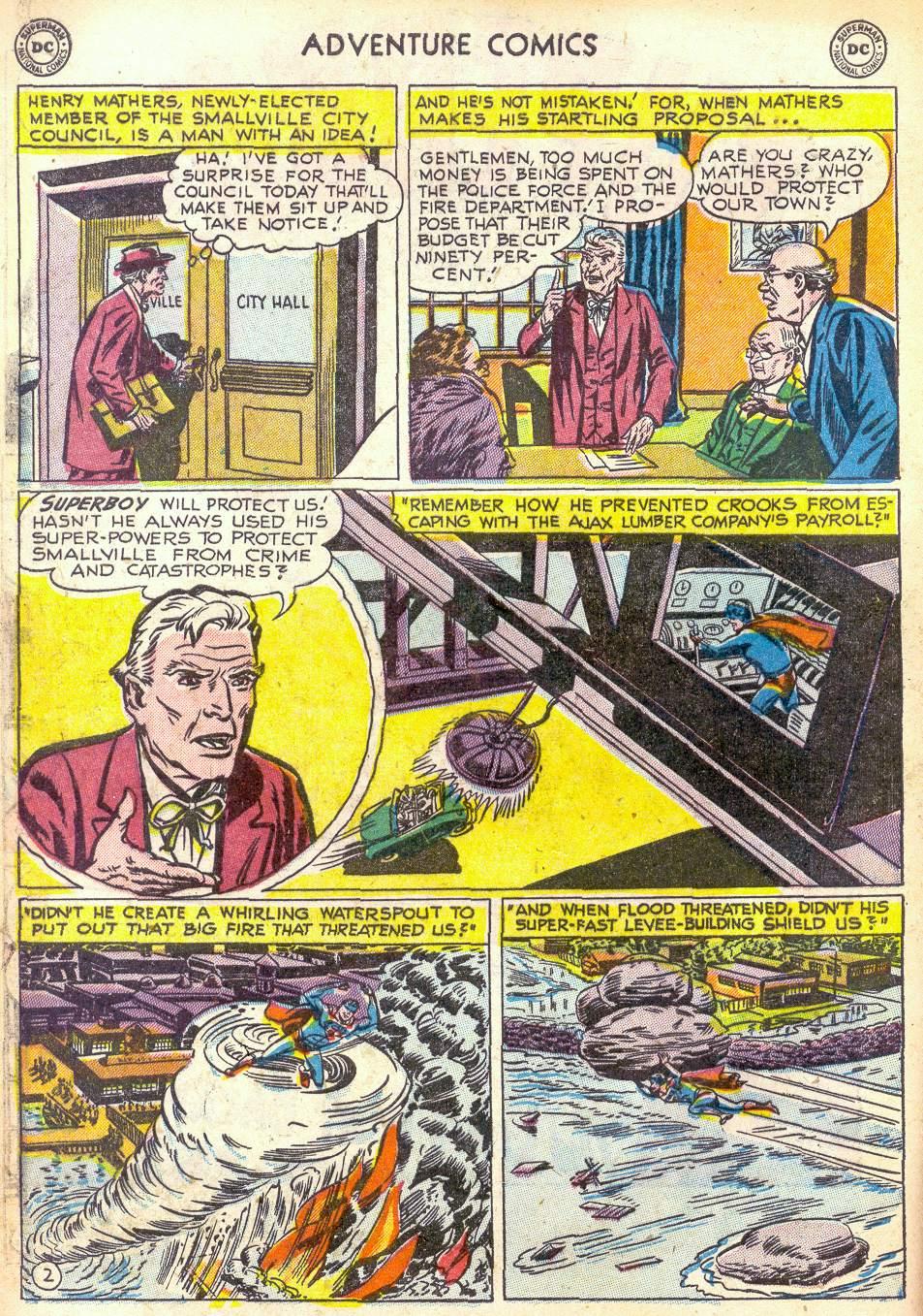 Read online Adventure Comics (1938) comic -  Issue #172 - 4