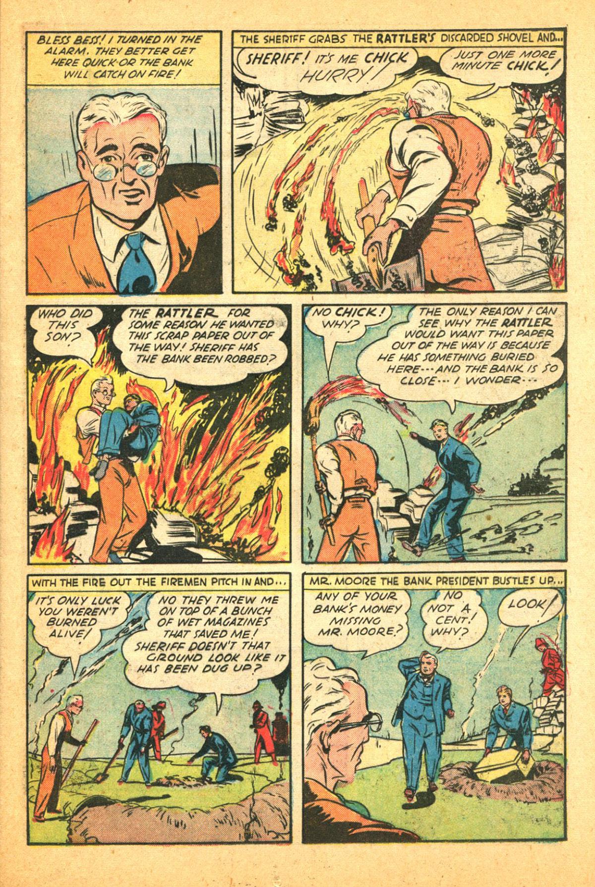 Read online Shadow Comics comic -  Issue #38 - 33