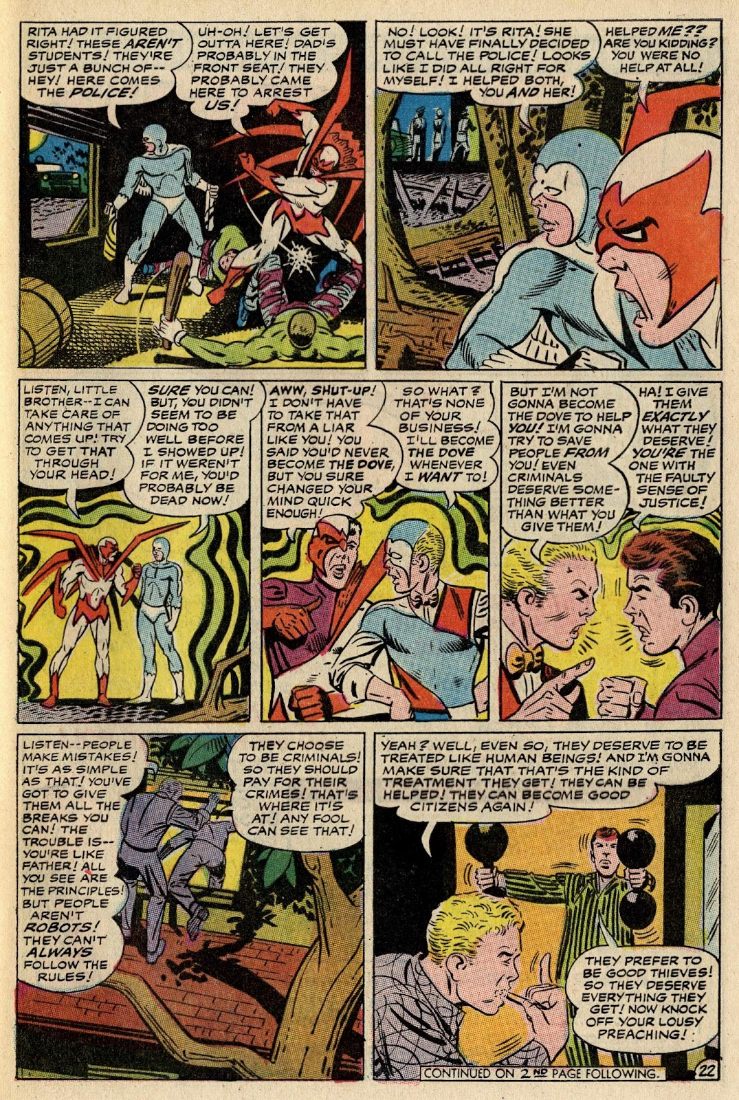 The Hawk and the Dove issue 1 - Page 28