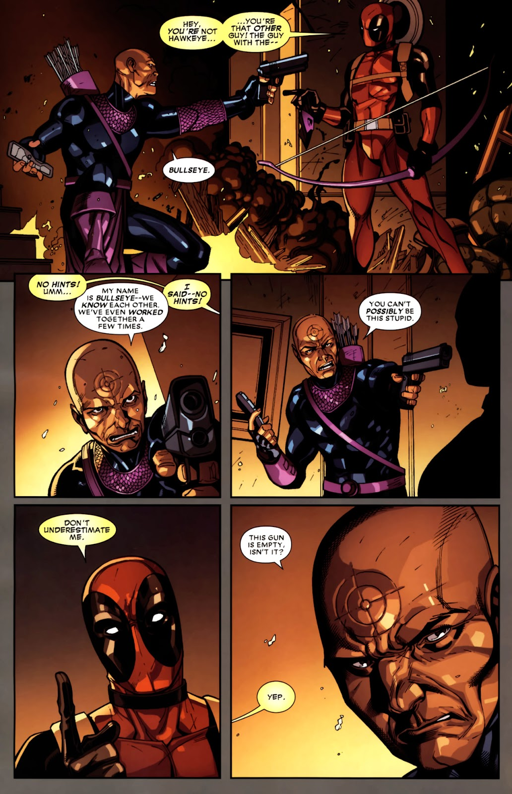 Read online Deadpool (2008) comic -  Issue #10 - 22