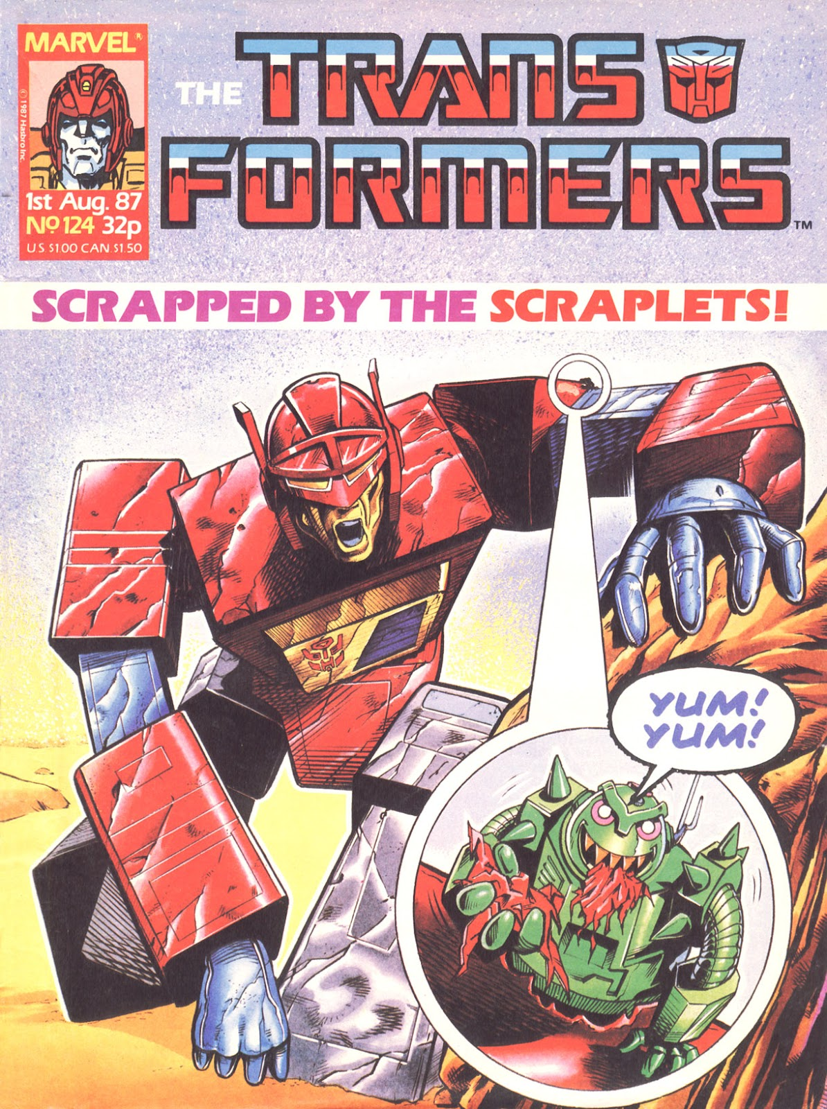 The Transformers (UK) 124 Page 1