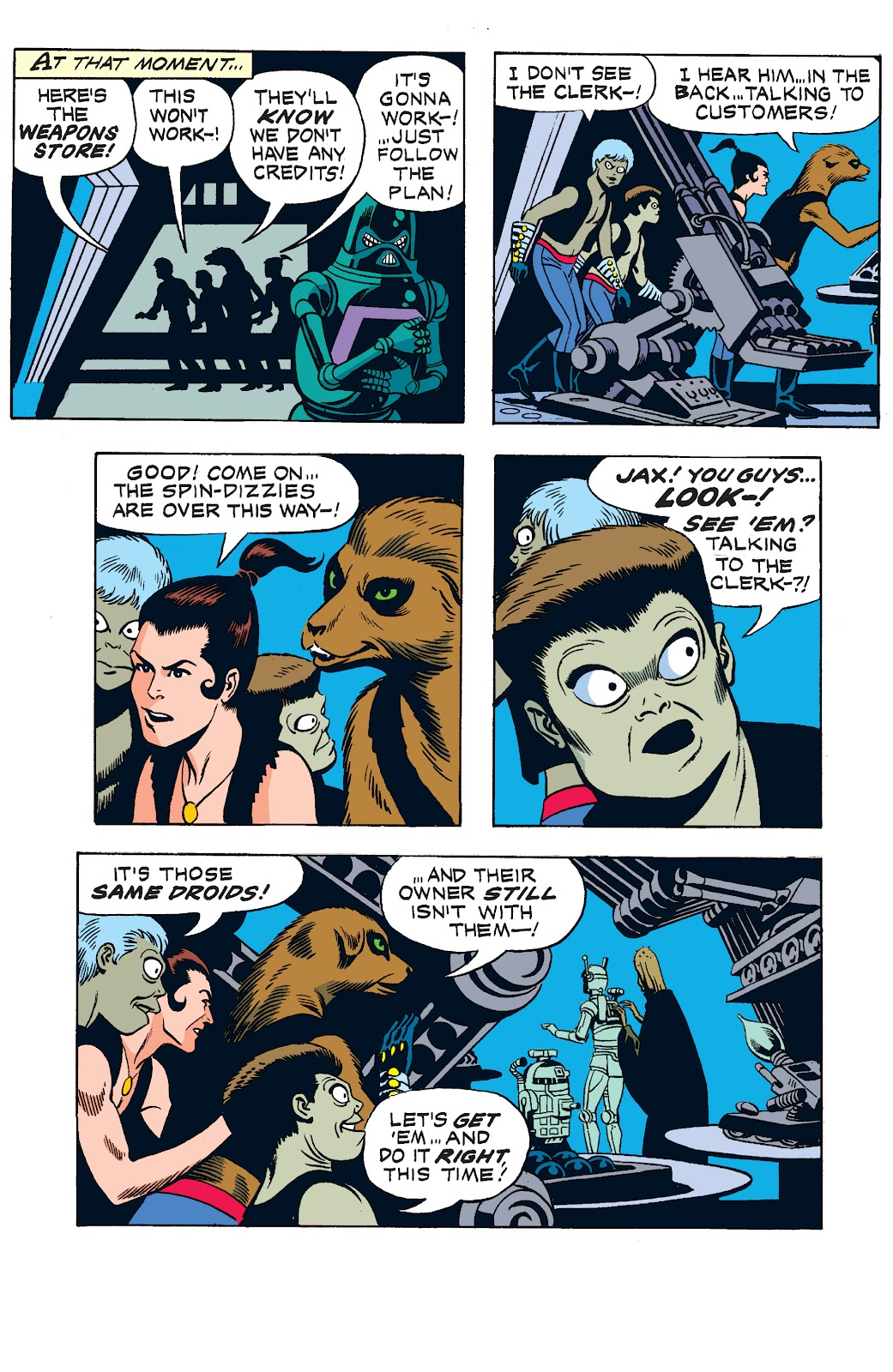 Read online Star Wars Legends: The Newspaper Strips - Epic Collection comic -  Issue # TPB (Part 1) - 82