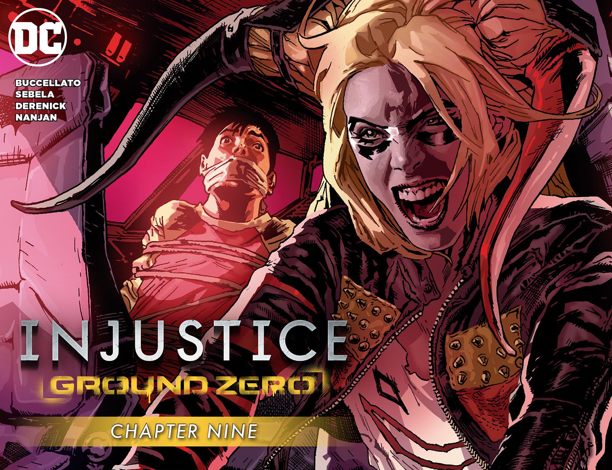 Read online Injustice: Ground Zero comic -  Issue #9 - 1