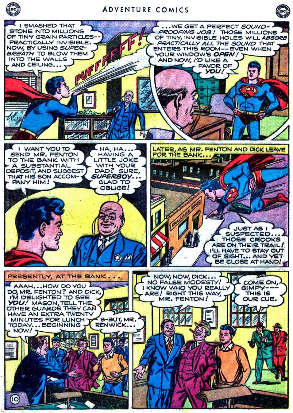 Read online Adventure Comics (1938) comic -  Issue #163 - 12