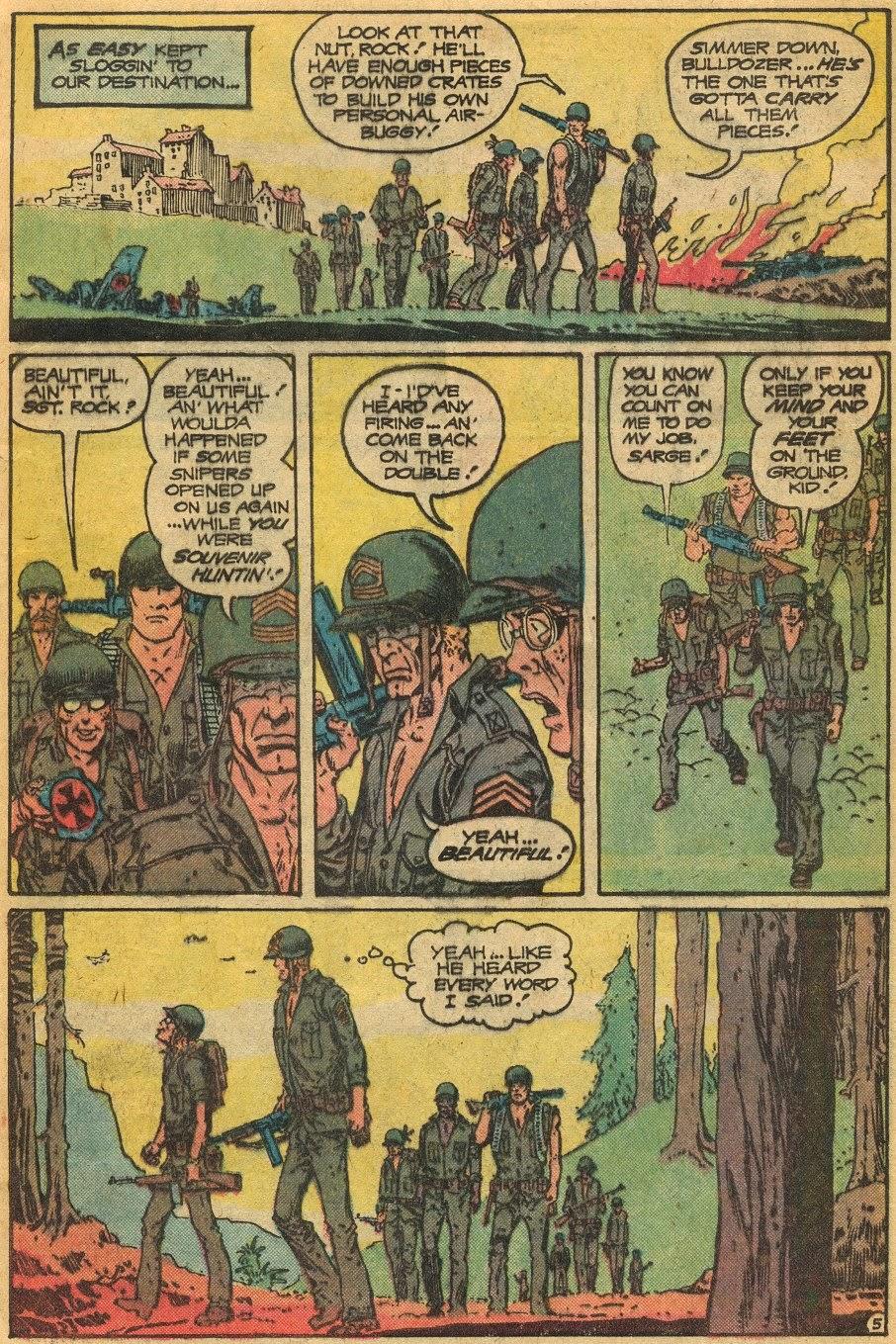 Read online Sgt. Rock comic -  Issue #341 - 6