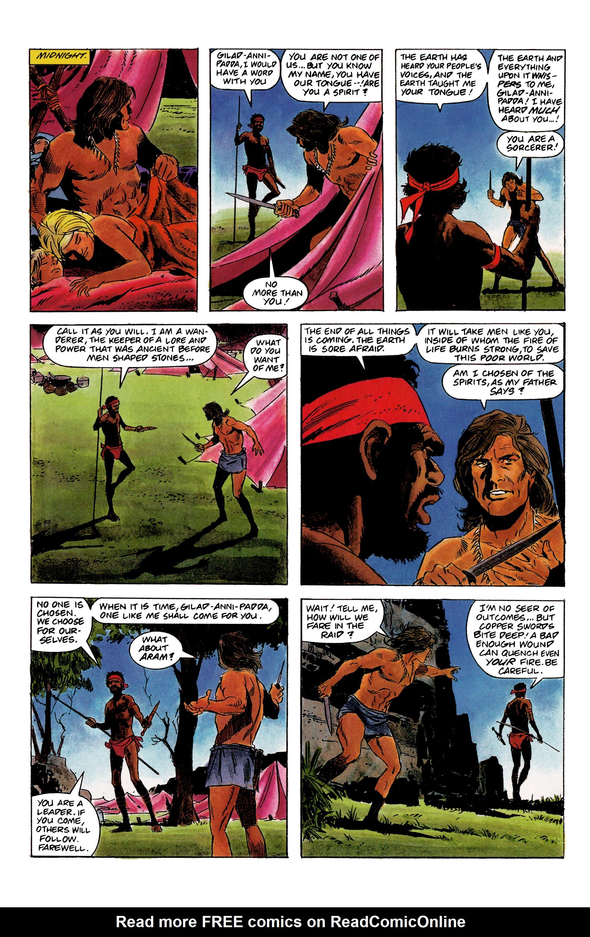 Read online Eternal Warrior (1992) comic -  Issue #1 - 9