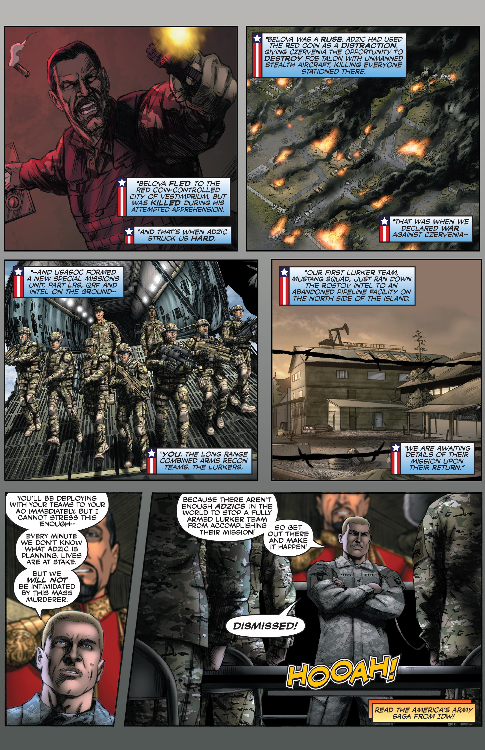 Read online America's Army comic -  Issue #0 - 8