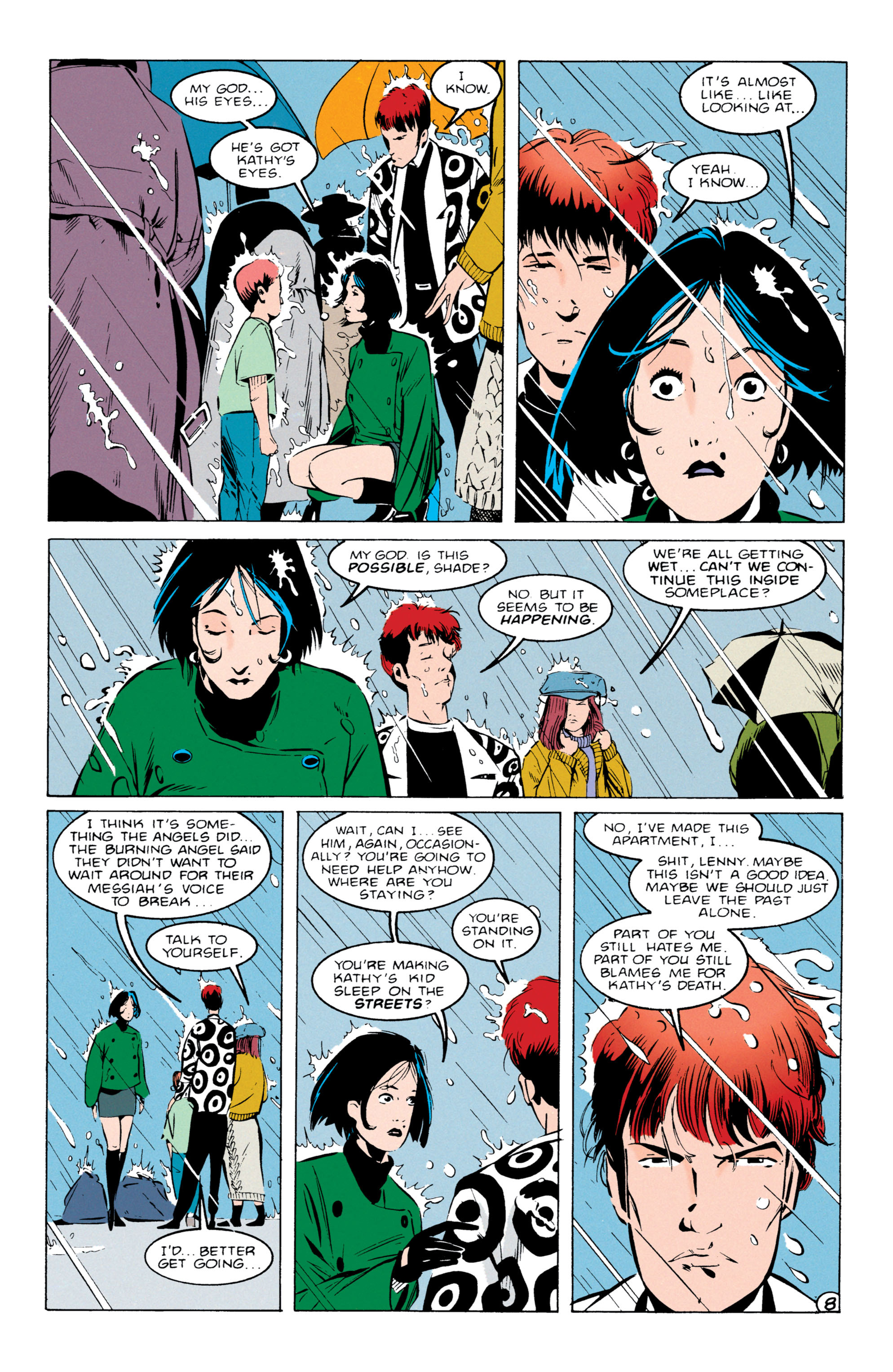 Read online Shade, the Changing Man comic -  Issue #55 - 9