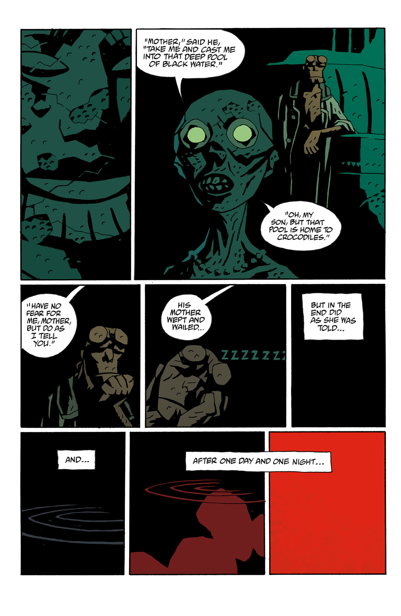 Read online Hellboy: The Troll Witch and Others comic -  Issue # TPB - 90