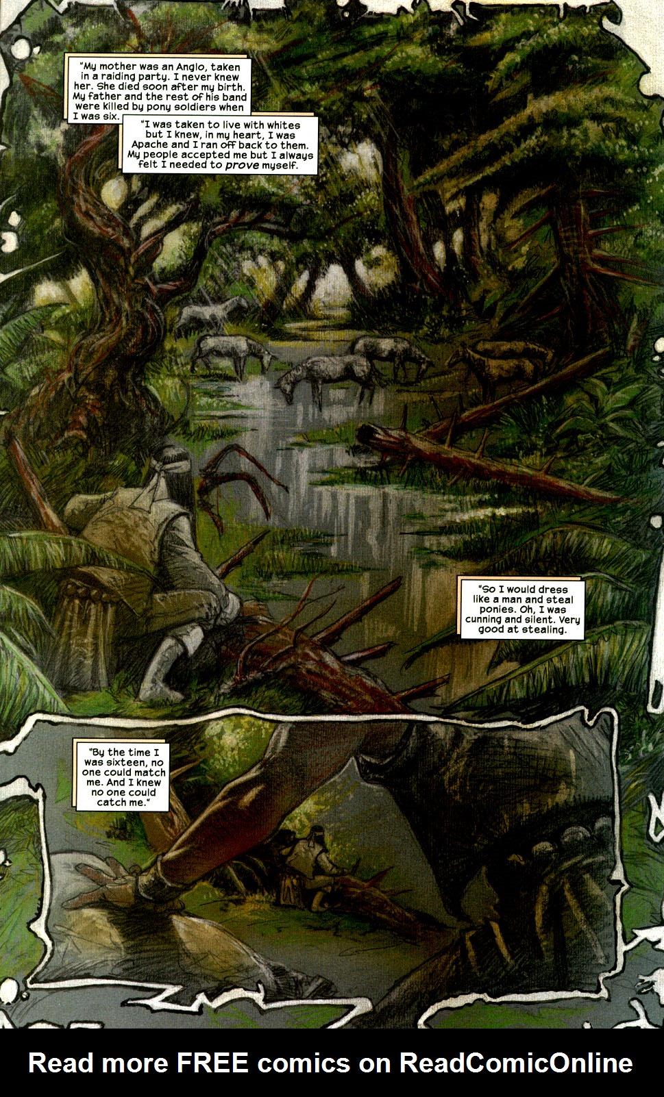 Read online Apache Skies comic -  Issue #2 - 15