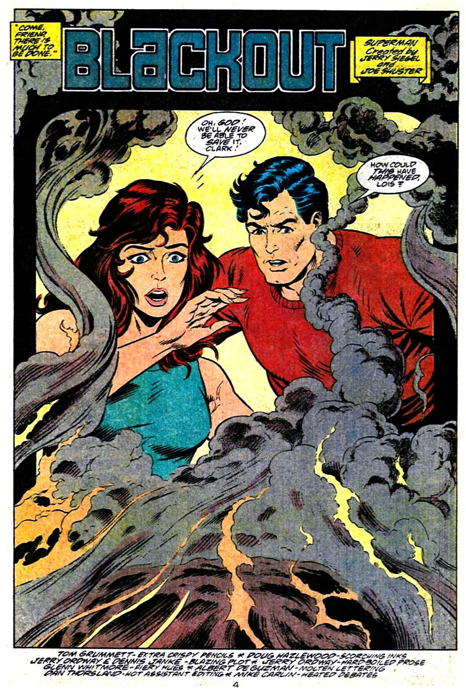 Read online Adventures of Superman (1987) comic -  Issue #484 - 5
