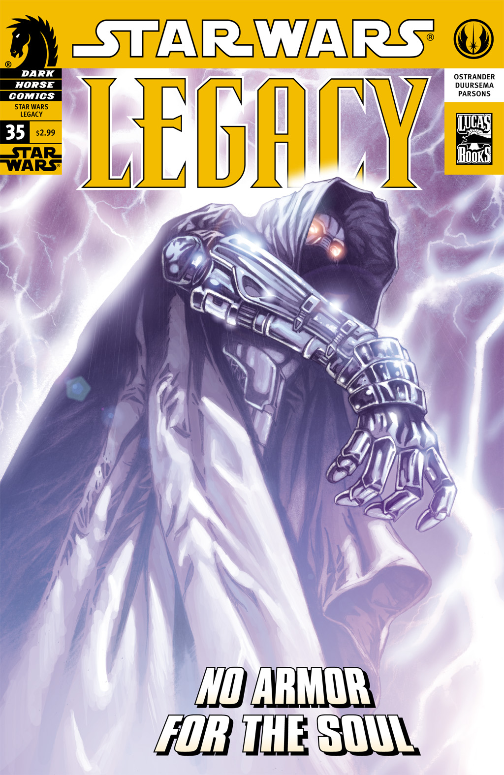 Star Wars: Legacy (2006) issue 35 - Page 1
