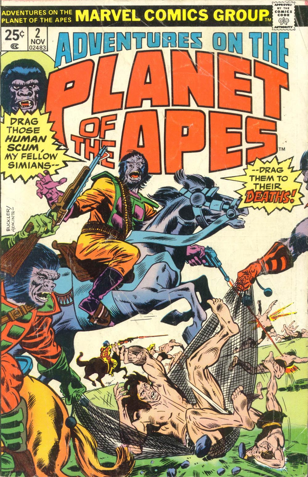 Read online Adventures on the Planet of the Apes comic -  Issue #2 - 1