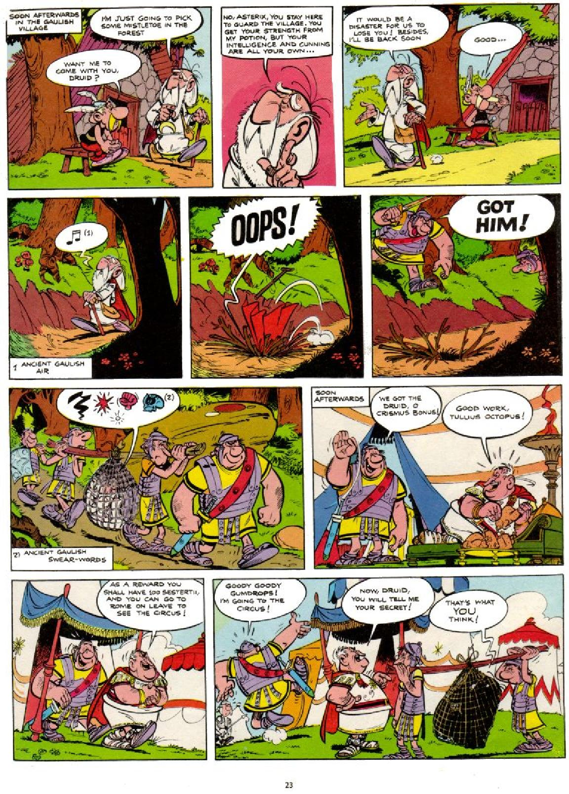 Read online Asterix comic -  Issue #1 - 23