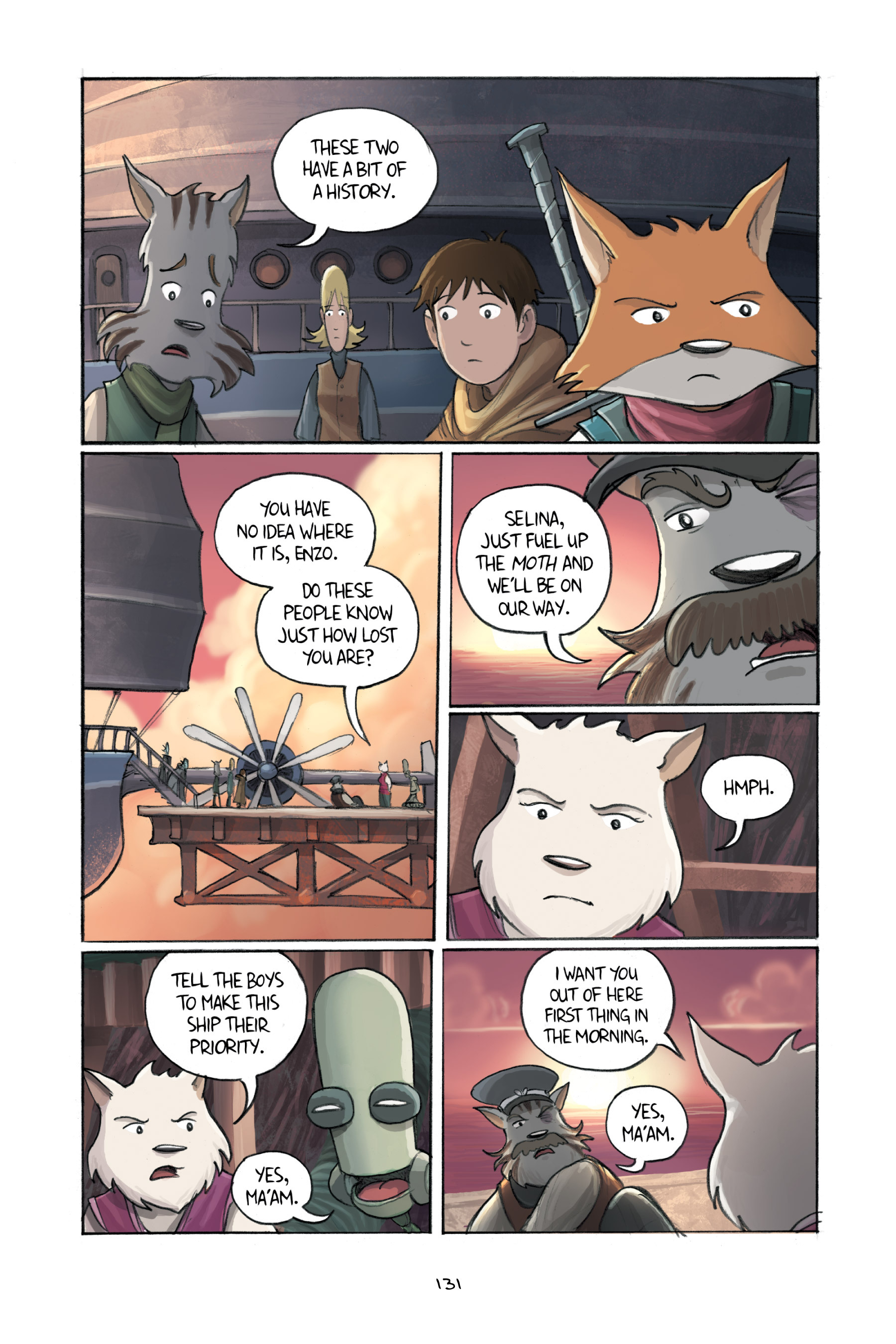 Read online Amulet comic -  Issue #3 - 128