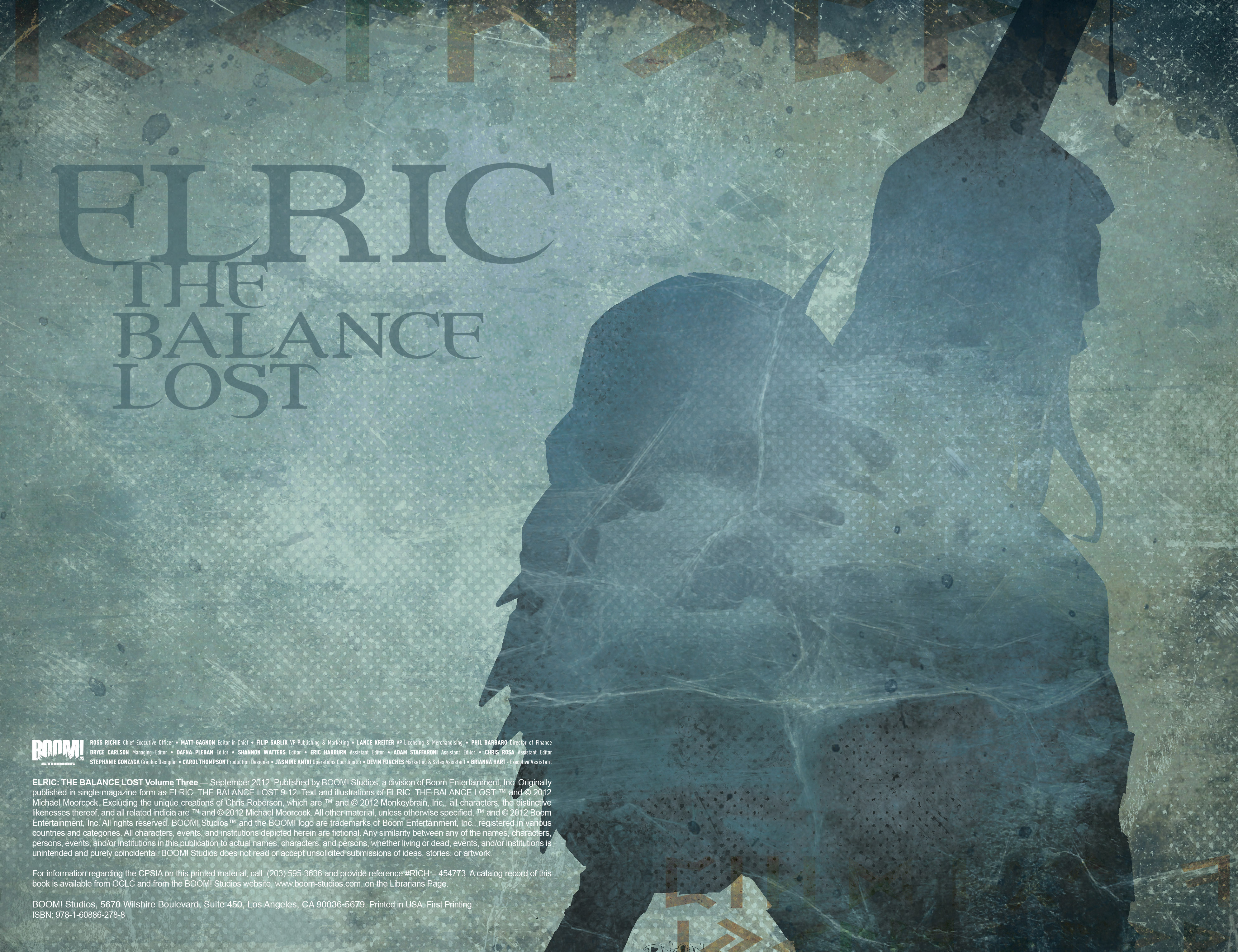 Read online Elric: The Balance Lost comic -  Issue # TPB 3 - 3