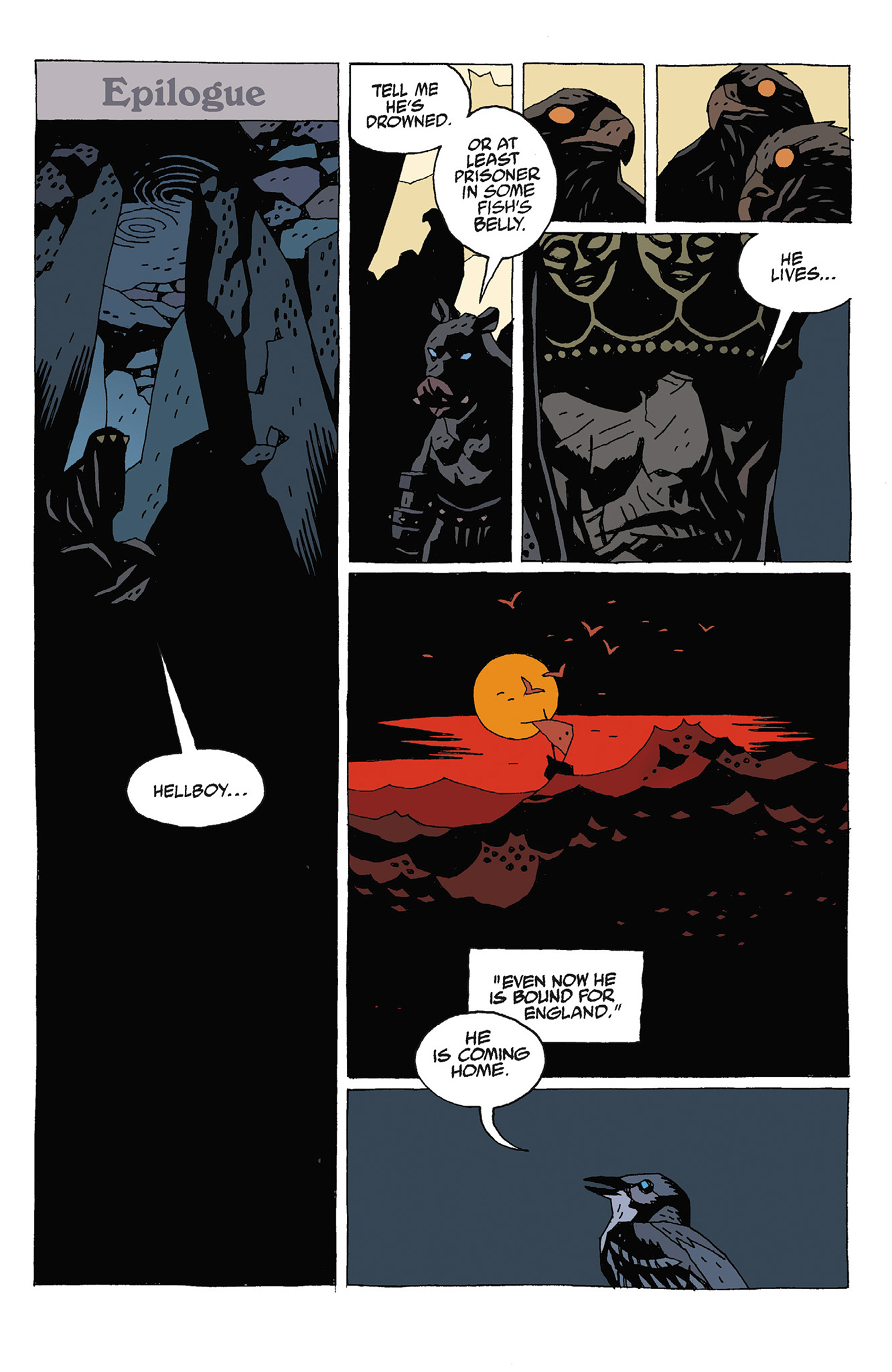 Read online Hellboy: Strange Places comic -  Issue # TPB - 127