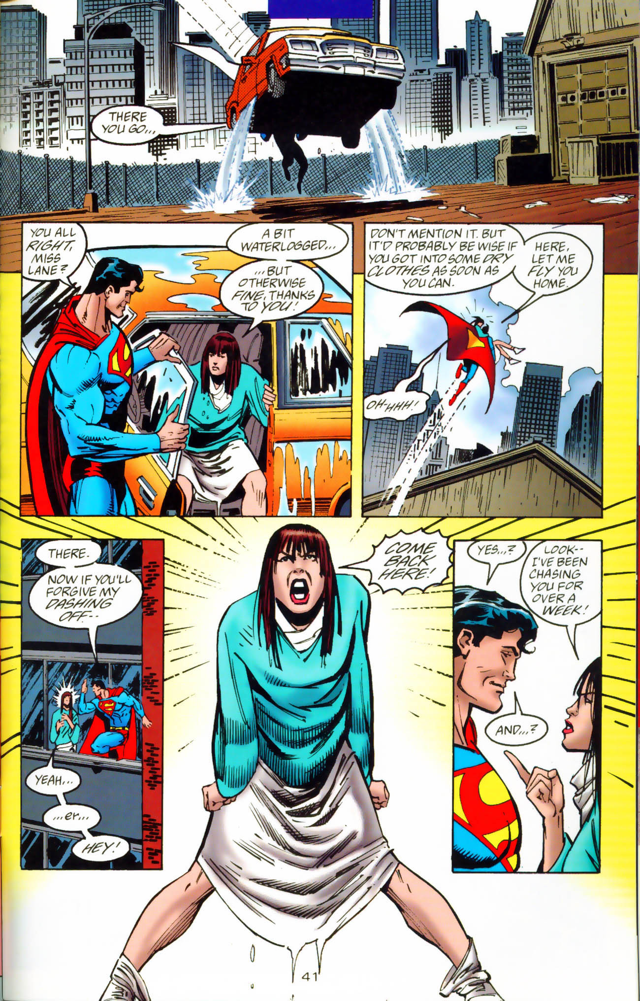 Read online Adventures of Superman (1987) comic -  Issue #Adventures of Superman (1987) _Annual 7 - 42
