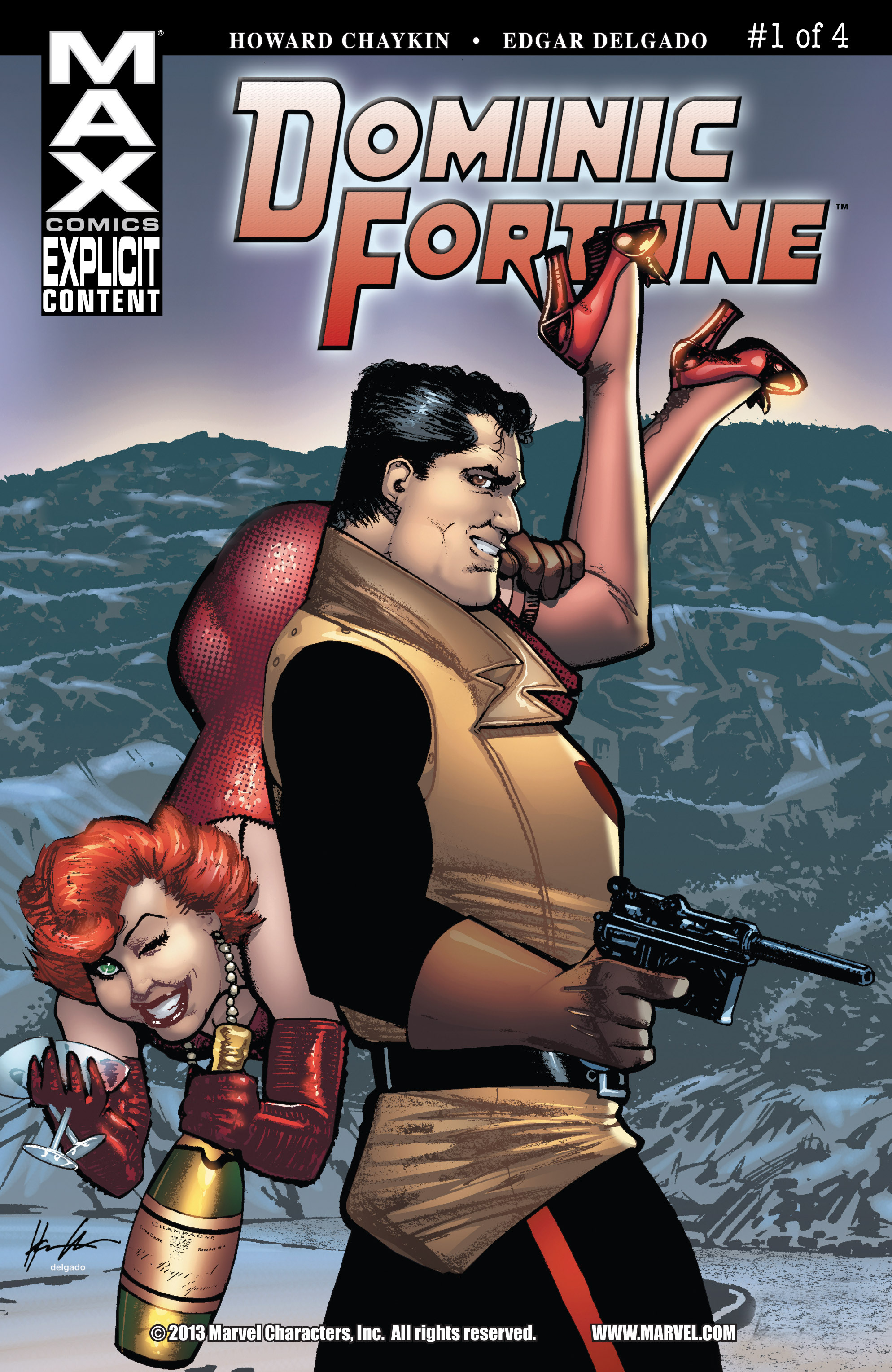 Read online Dominic Fortune comic -  Issue #1 - 1