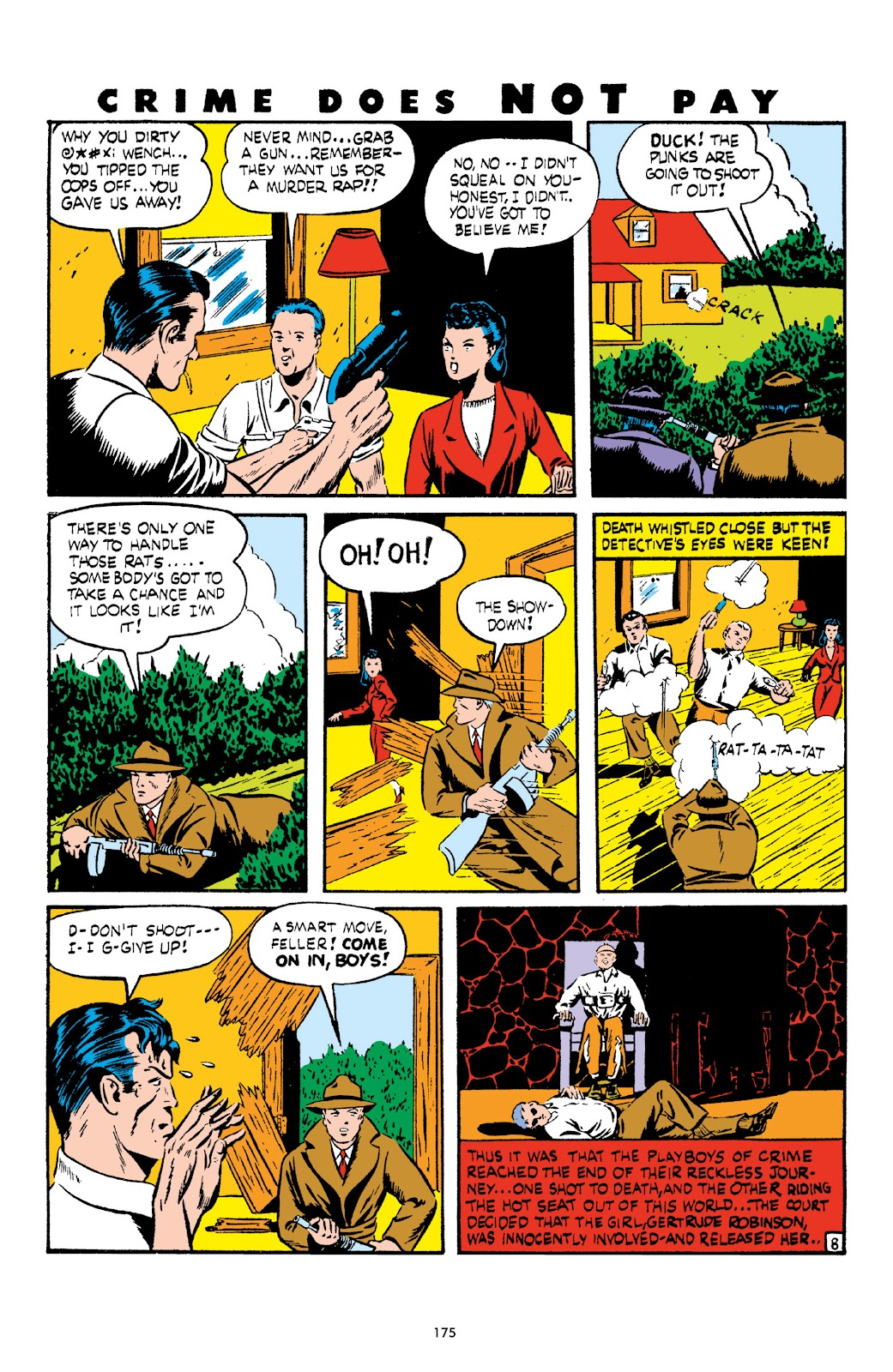 Read online Crime Does Not Pay Archives comic -  Issue # TPB 3 (Part 2) - 75